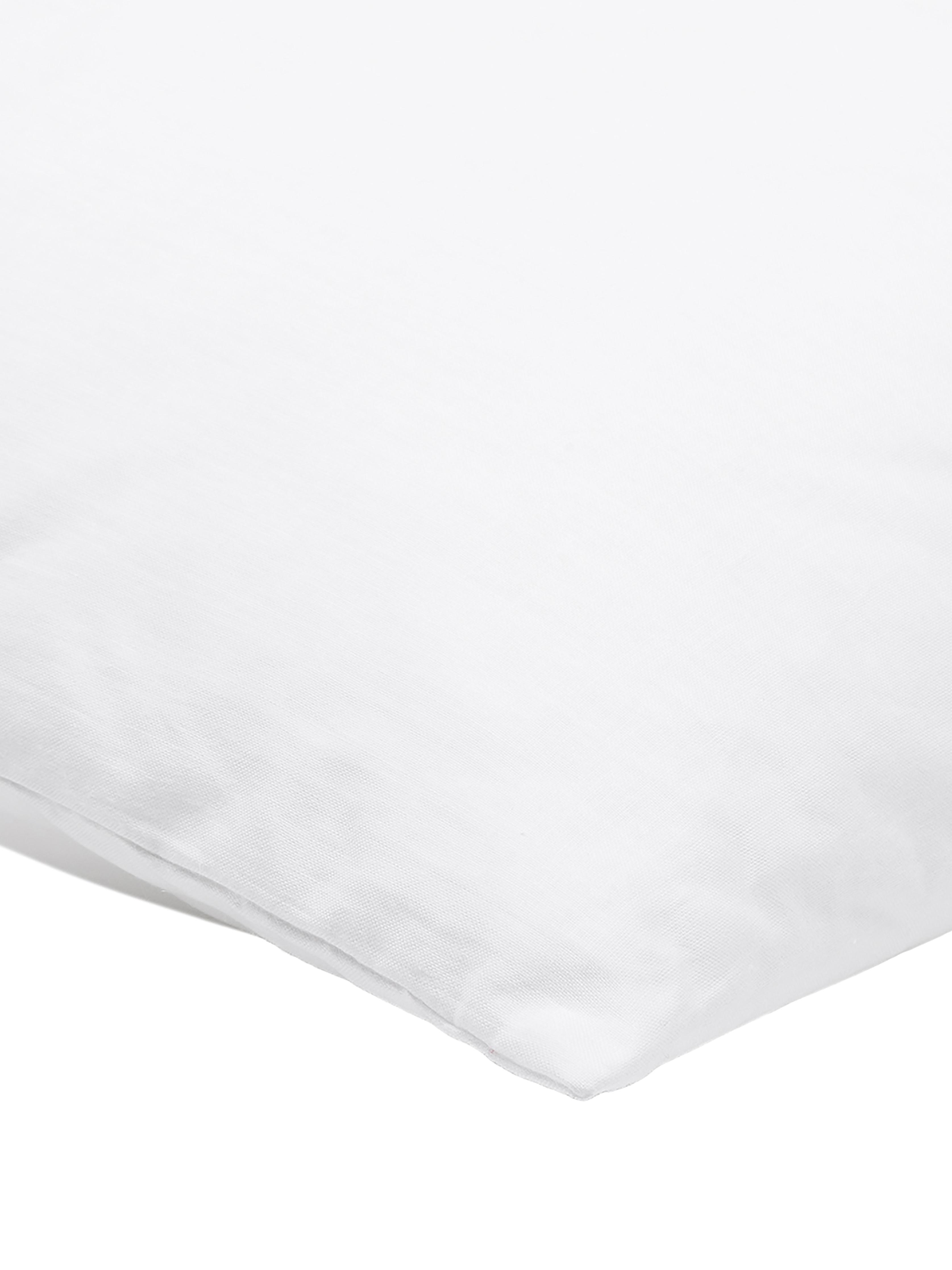Kissen-Inlett Sia, 60x60, Microfaser-Füllung, Hülle: 100% Baumwolle, Weiß, 60 x 60 cm