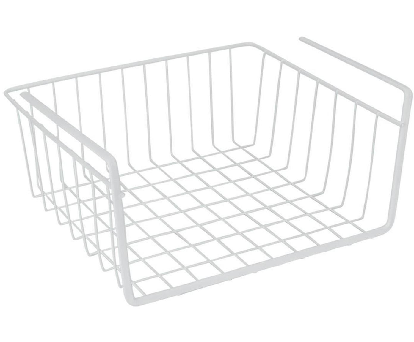 Estante Babatex, Metal recubierto, Blanco, An 30 x Al 14 cm