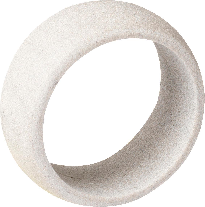 Obrączka na serwetkę Kit, 6szt., Piaskowiec, Jasnopiaskowy, Ø 5 x W 2 cm