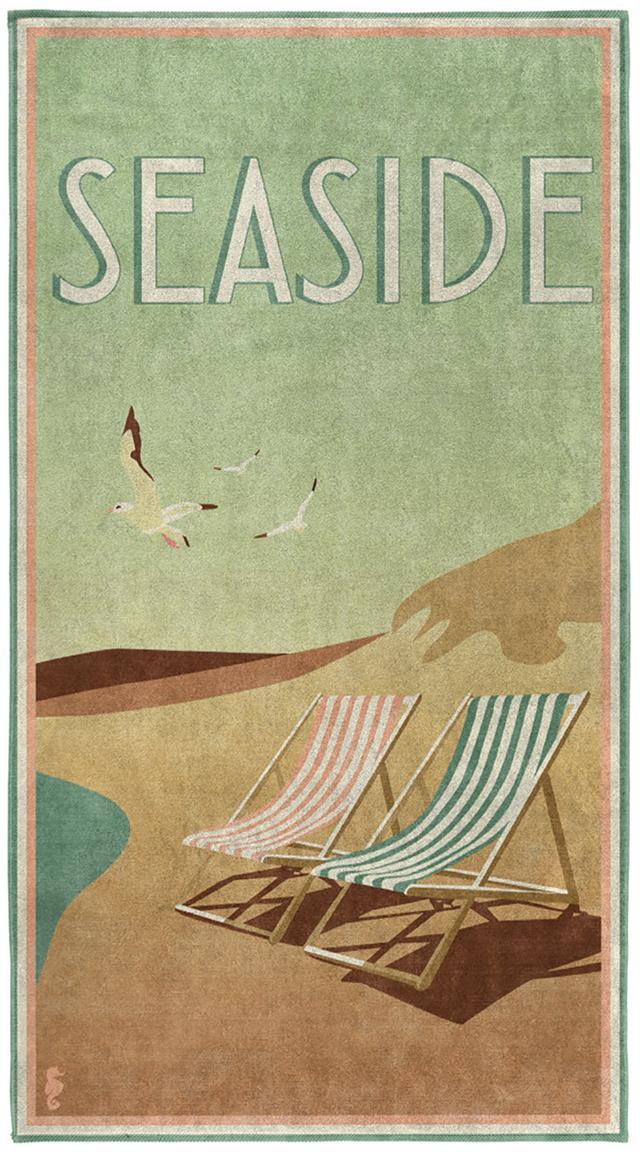 Strandtuch Blackpool, Mehrfarbig, 90 x 170 cm