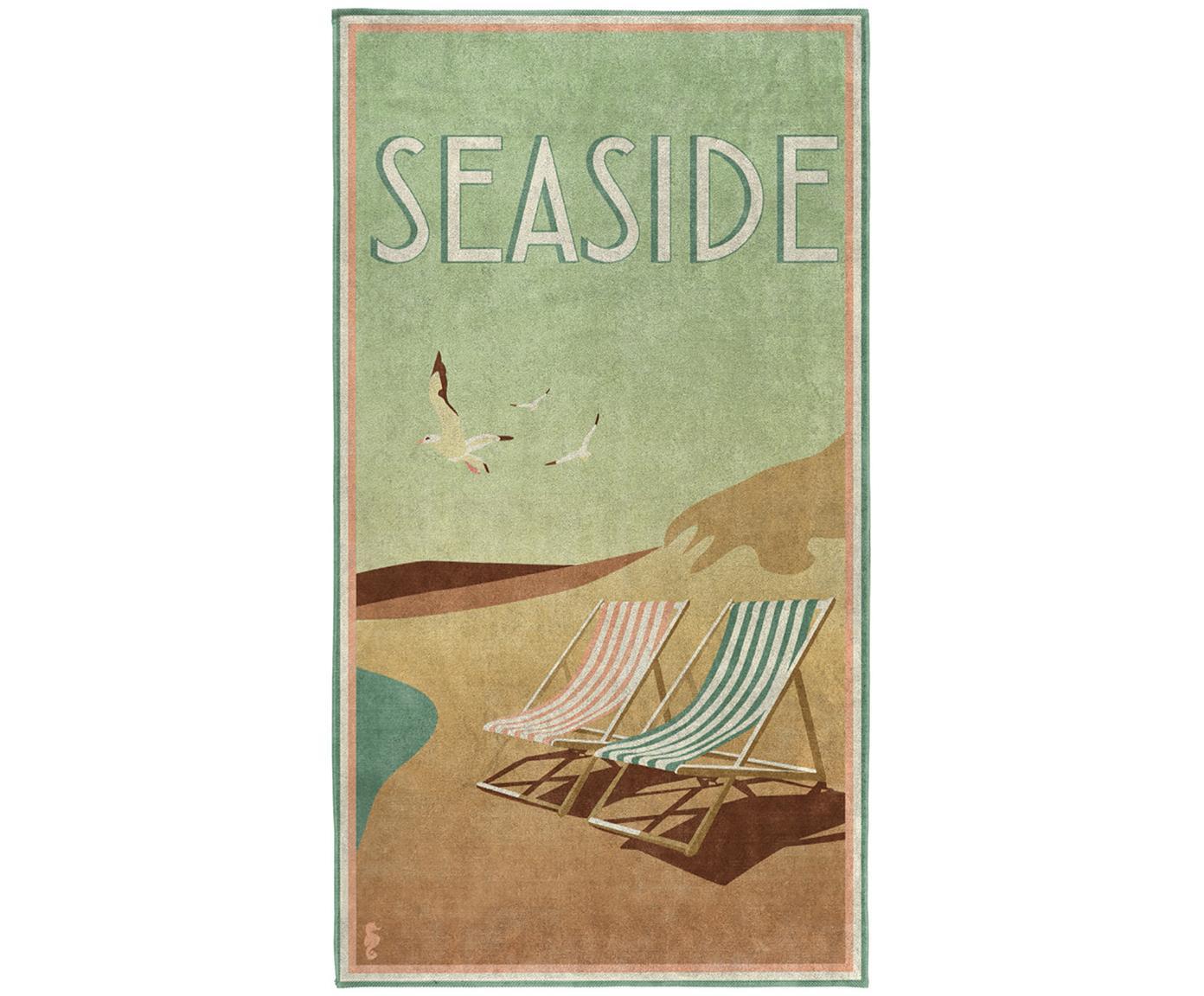 Ręcznik plażowy Blackpool, Egipska bawełna Średnia gramatura 420 g/m, Wielobarwny, S 90 x D 170 cm