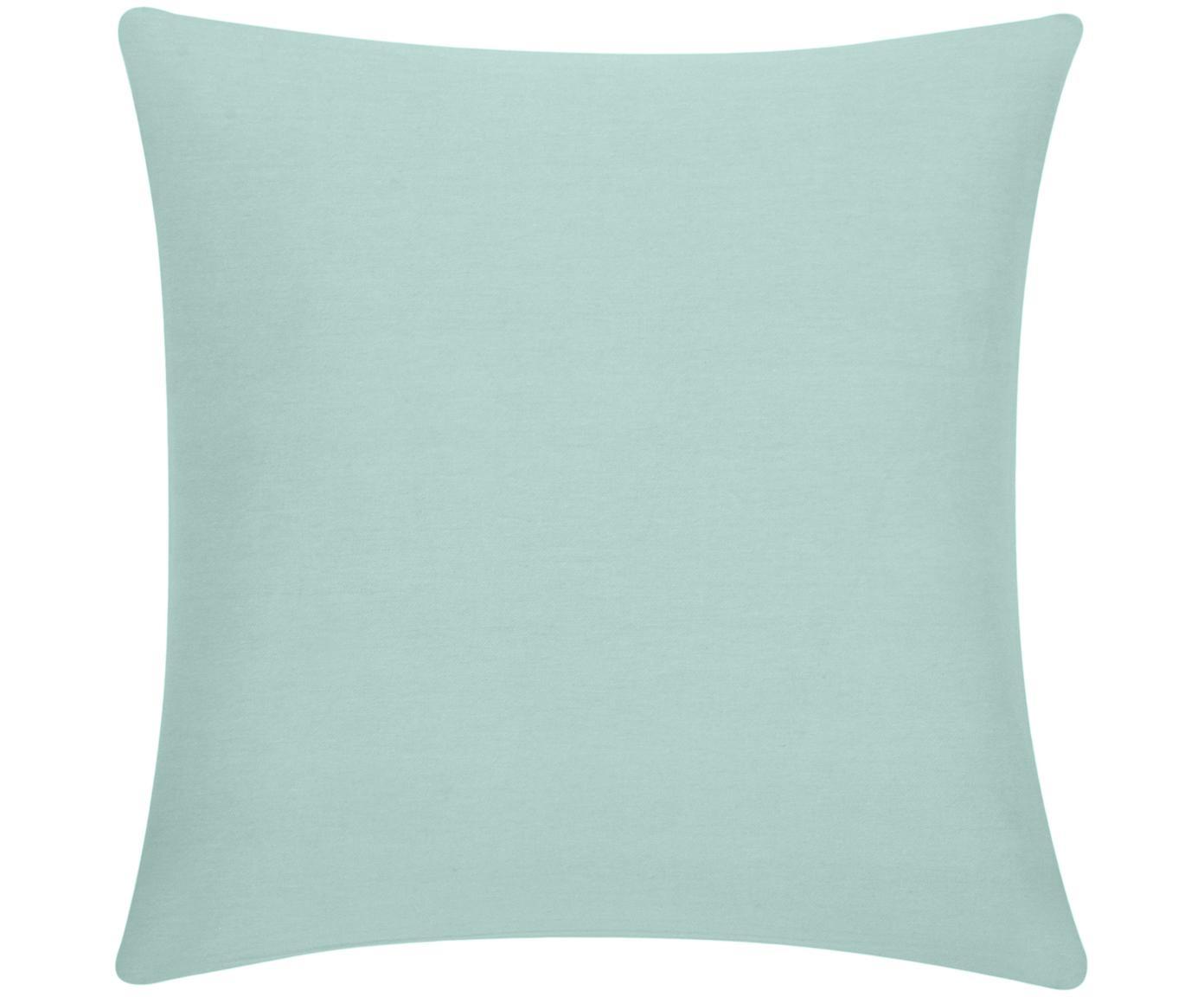 Poszewka na poduszkę Mads, 100% bawełna, Szałwiowa zieleń, S 40 x D 40 cm