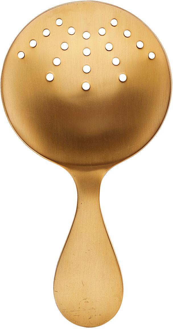 Cuchara colador Alir, Acero inoxidable, recubierto, Latón, An 9 x Al 17 cm