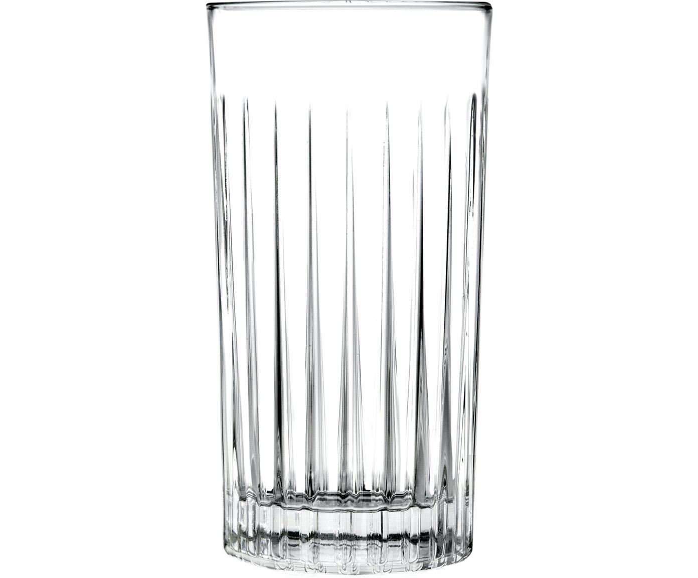 Kryształowa szklanka do koktajli Timeless, 6 szt., Szkło kryształowe, Transparentny, Ø 8 x W 15 cm