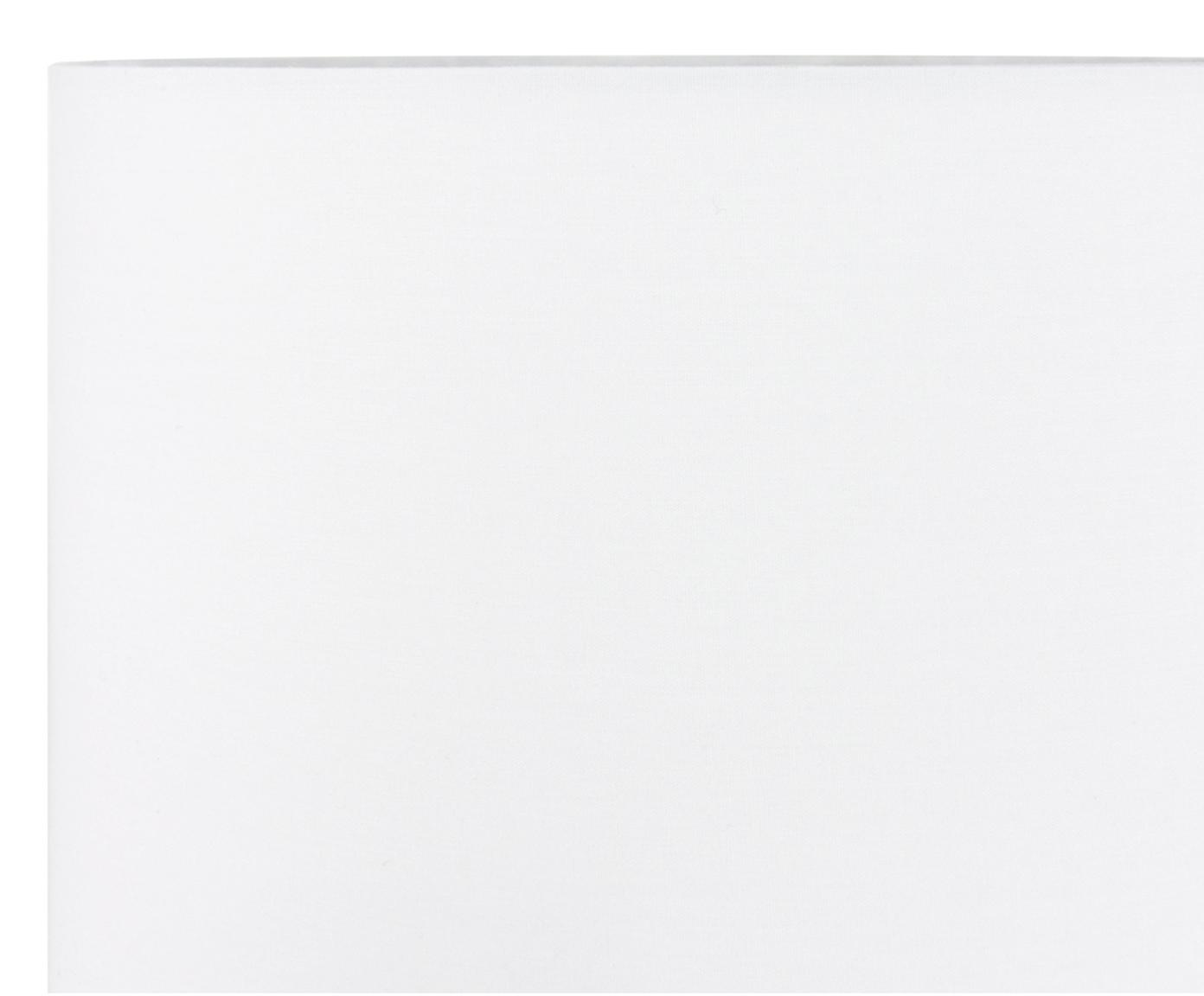 Lampa stołowa Diamond, Klosz: biały Podstawa lampy: transparentny Kabel: biały, Ø 25 x W 53 cm