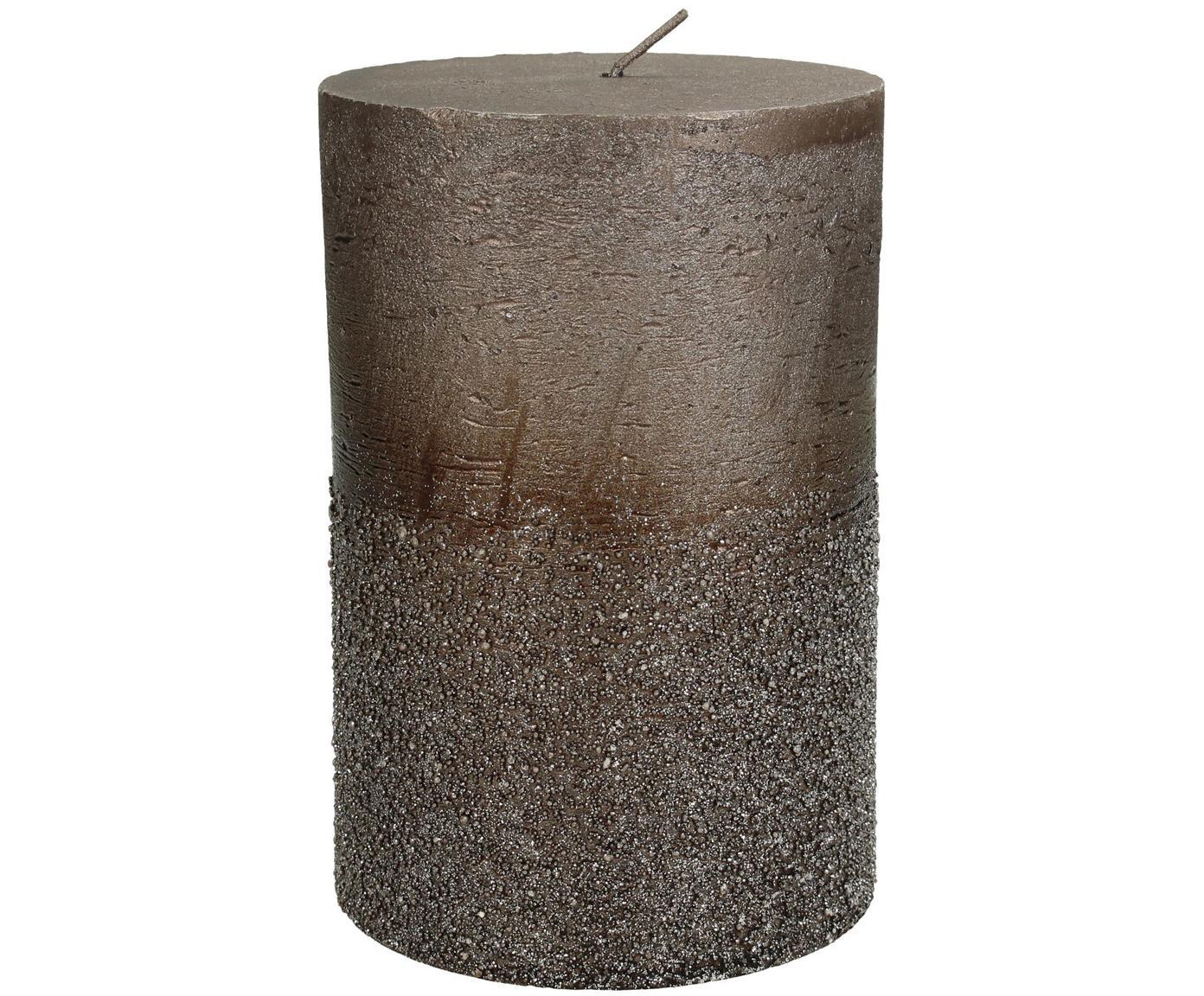 Stompkaars Glitters, Was, Bruin, Ø 10 cm
