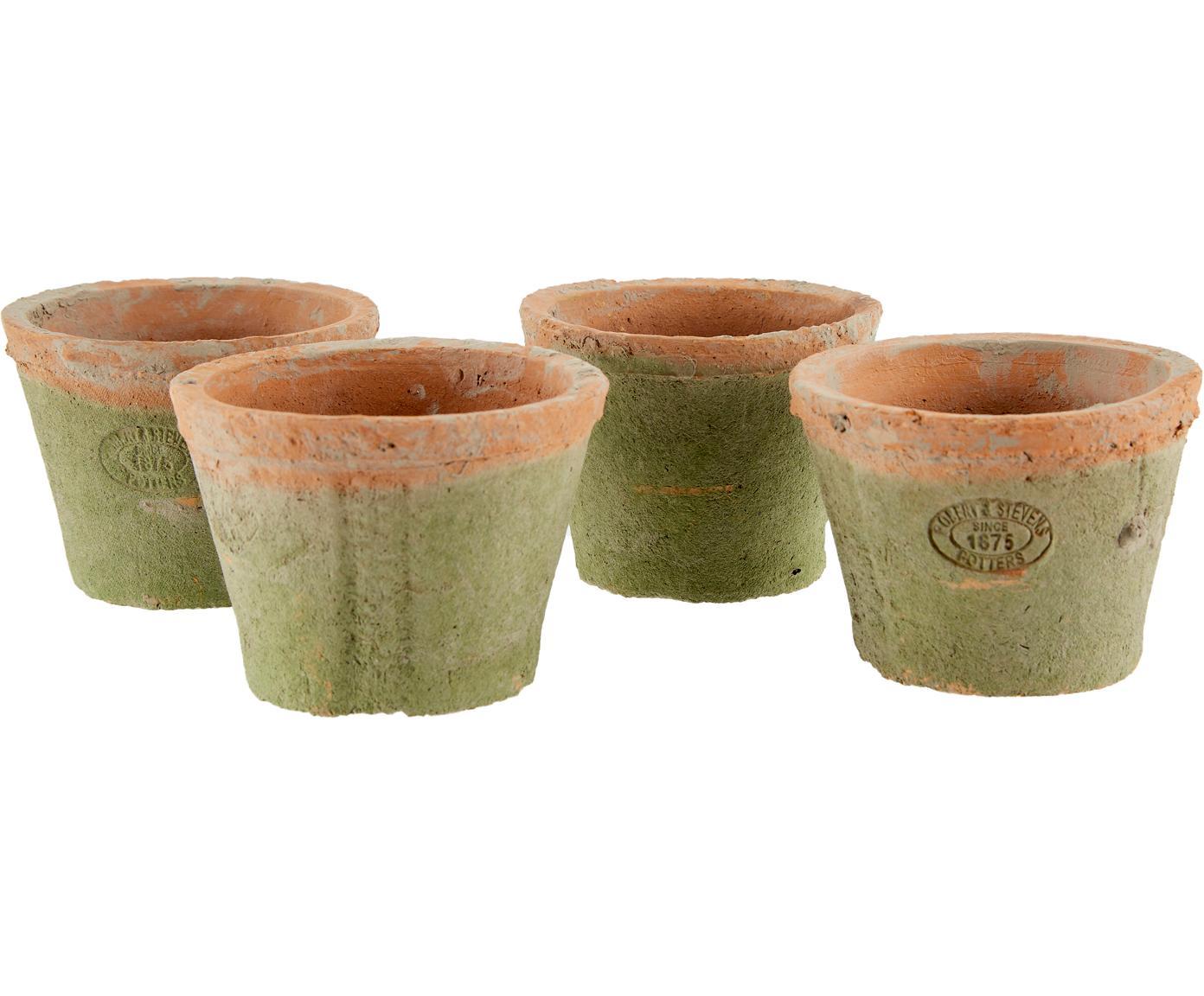 Set portavasi Daria 5 pz, Terracotta, marrone, Larg. 24 x Alt. 10 cm
