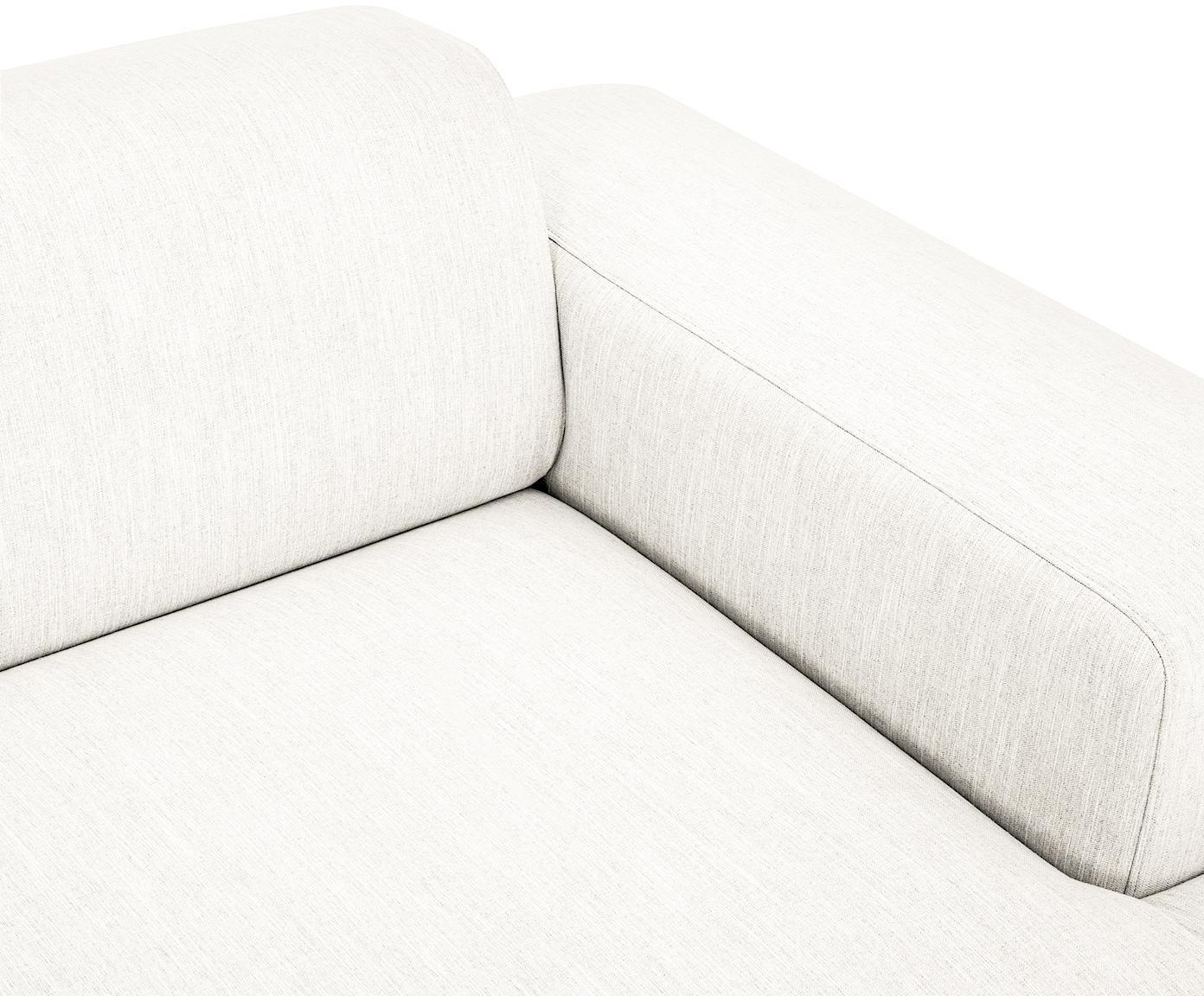 Ecksofa Melva (4-Sitzer), Bezug: Polyester Der hochwertige, Gestell: Massives Kiefernholz, Spa, Füße: Kiefernholz, Webstoff Beige, B 319 x T 144 cm