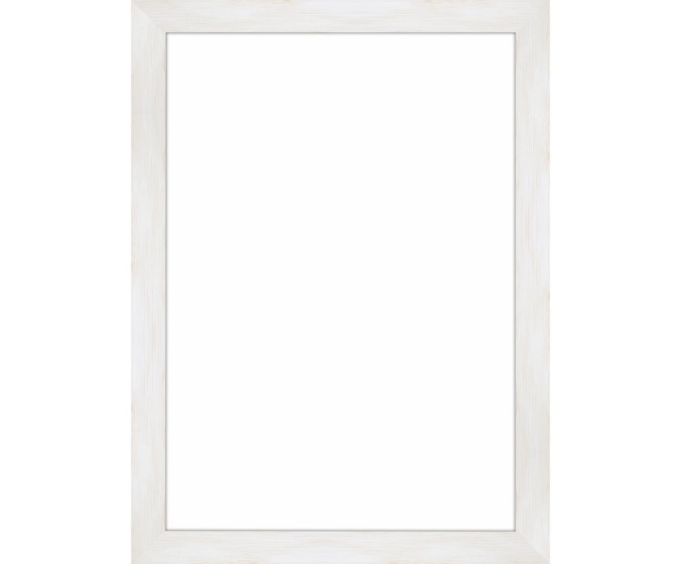 Cornice Magic, Cornice: legno di pino Monterey, v, Retro: Pannello di fibra a media, Bianco, 21 x 30 cm