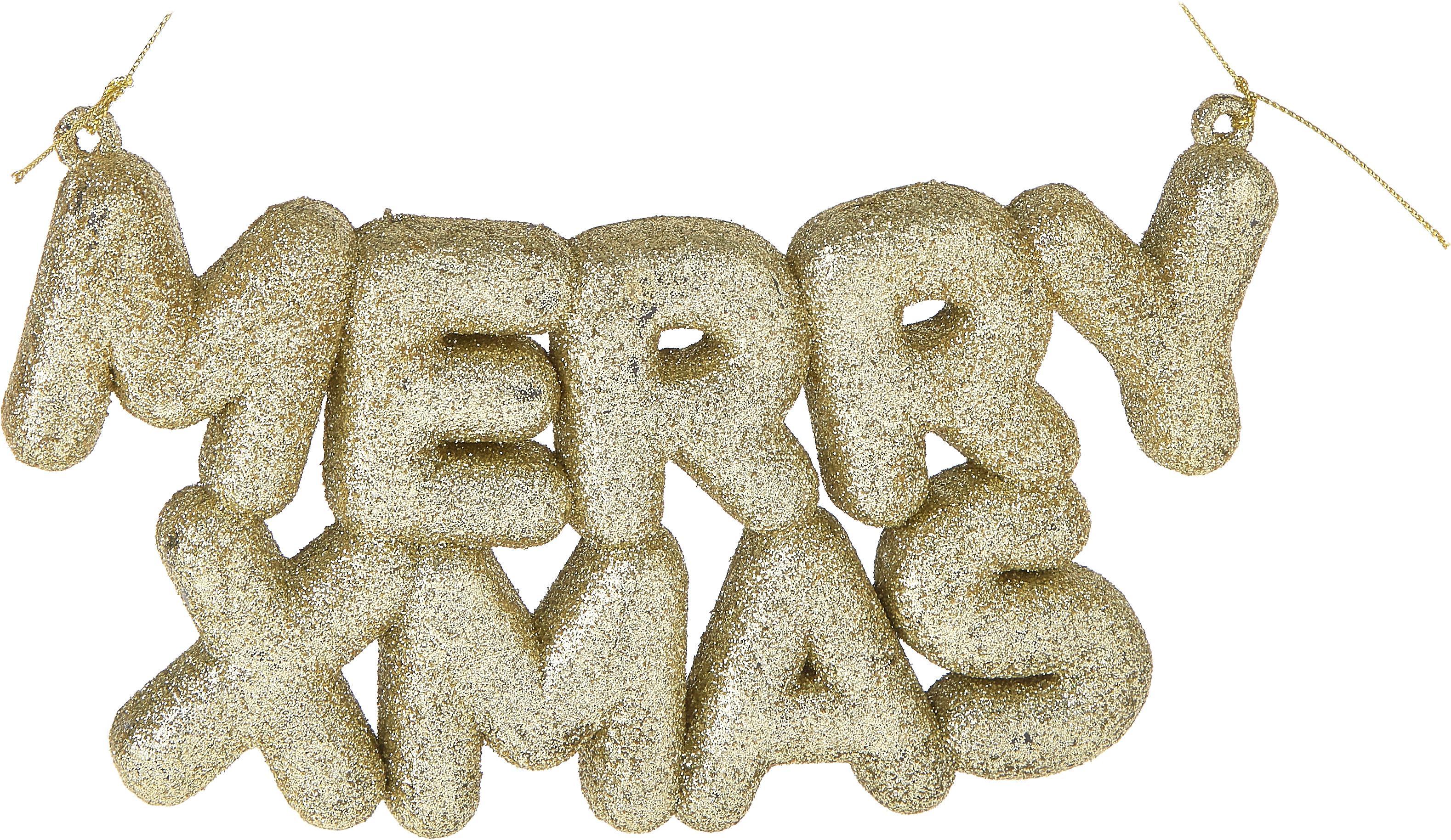 Dekoracja Yule, Tworzywo sztuczne, Odcienie srebrnego, S 20 x W 10 cm
