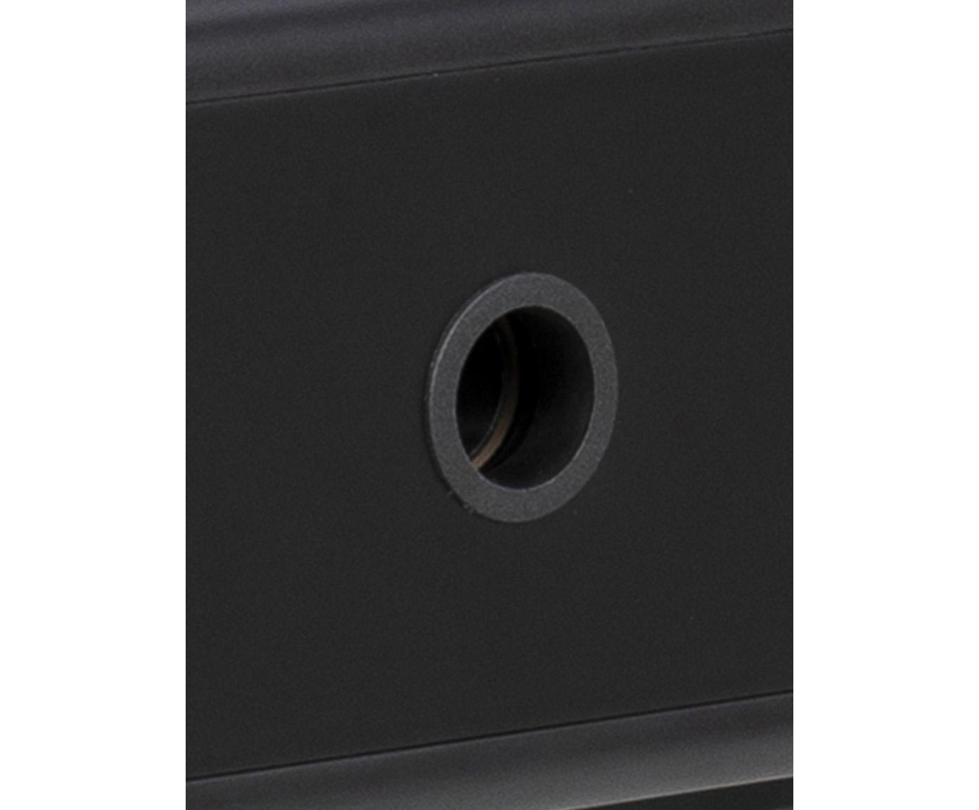 Bureau Pascal met lades, Poten: gelakt metaal, Zwart, 100 x 55 cm