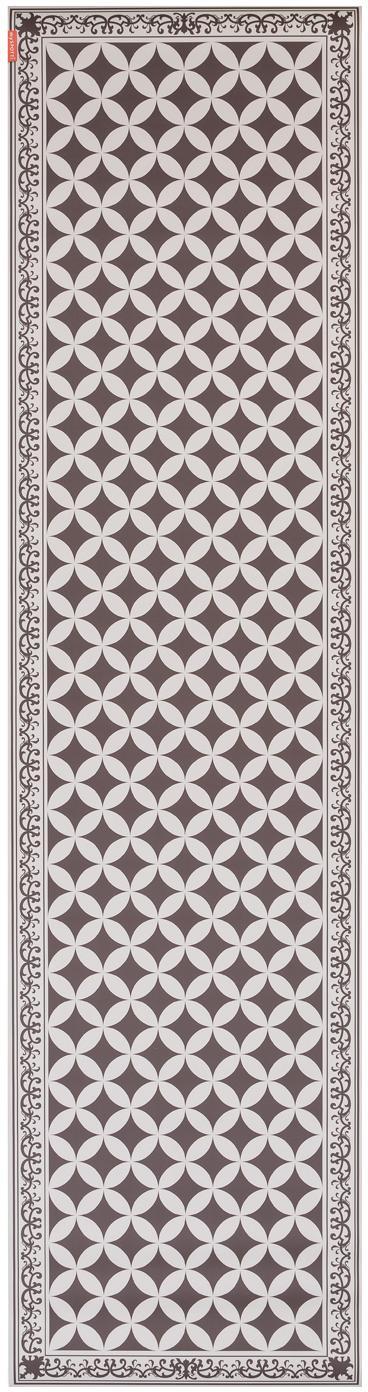 Mata podłogowa z winylu  Aladdin, Khaki, beżowy, S 65 x D 255 cm