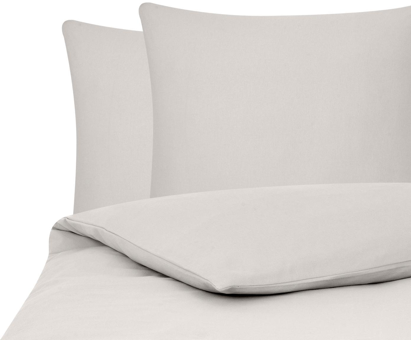 Flanell-Bettwäsche Biba in Taupe, Webart: Flanell Flanell ist ein s, Taupe, 200 x 200 cm + 2 Kissen 80 x 80 cm