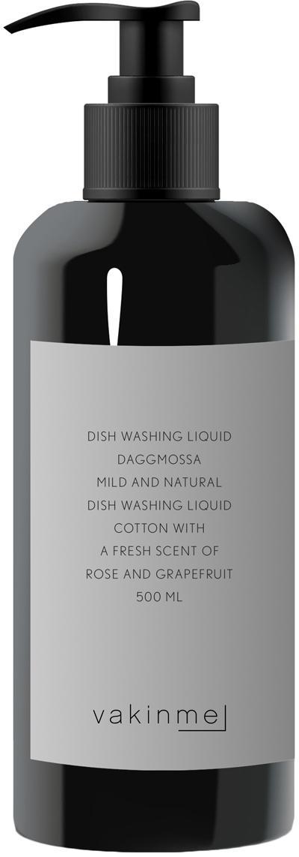 Afwasmiddel Daggmossa, Houder: kunststof, Zwart, 500 ml