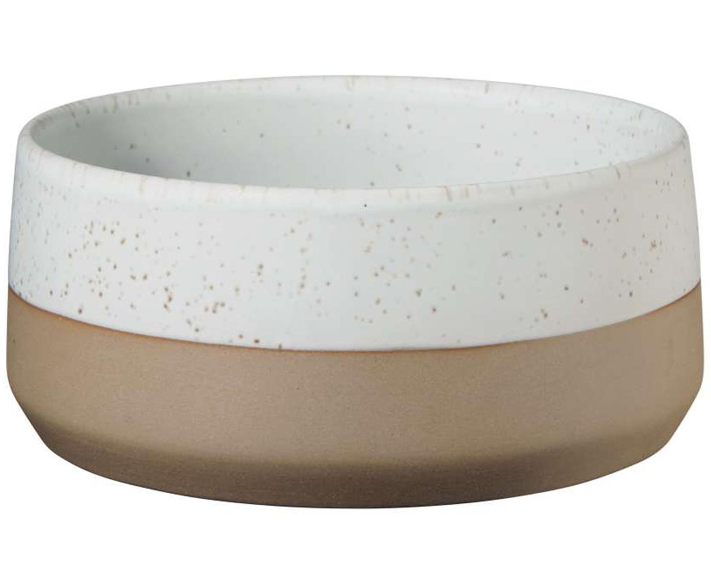 Ciotolina opaca in tonalità marroni e beige Caja 2 pz, Argilla, Tonalità marroni e beige, Ø 14 cm