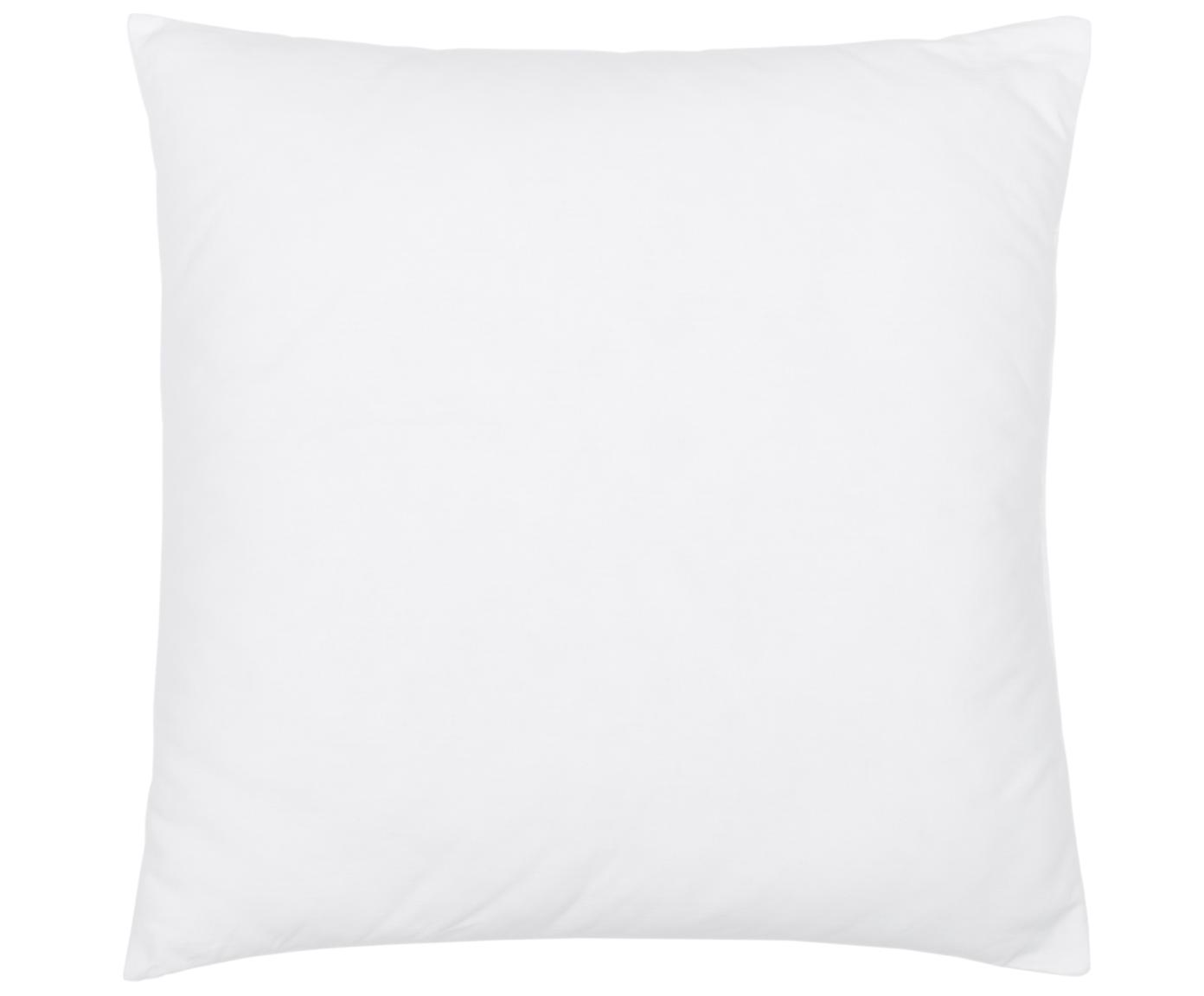 Kissen-Inlett Sia, 50x50, Microfaser-Füllung, Hülle: 100% Baumwolle, Weiss, 50 x 50 cm