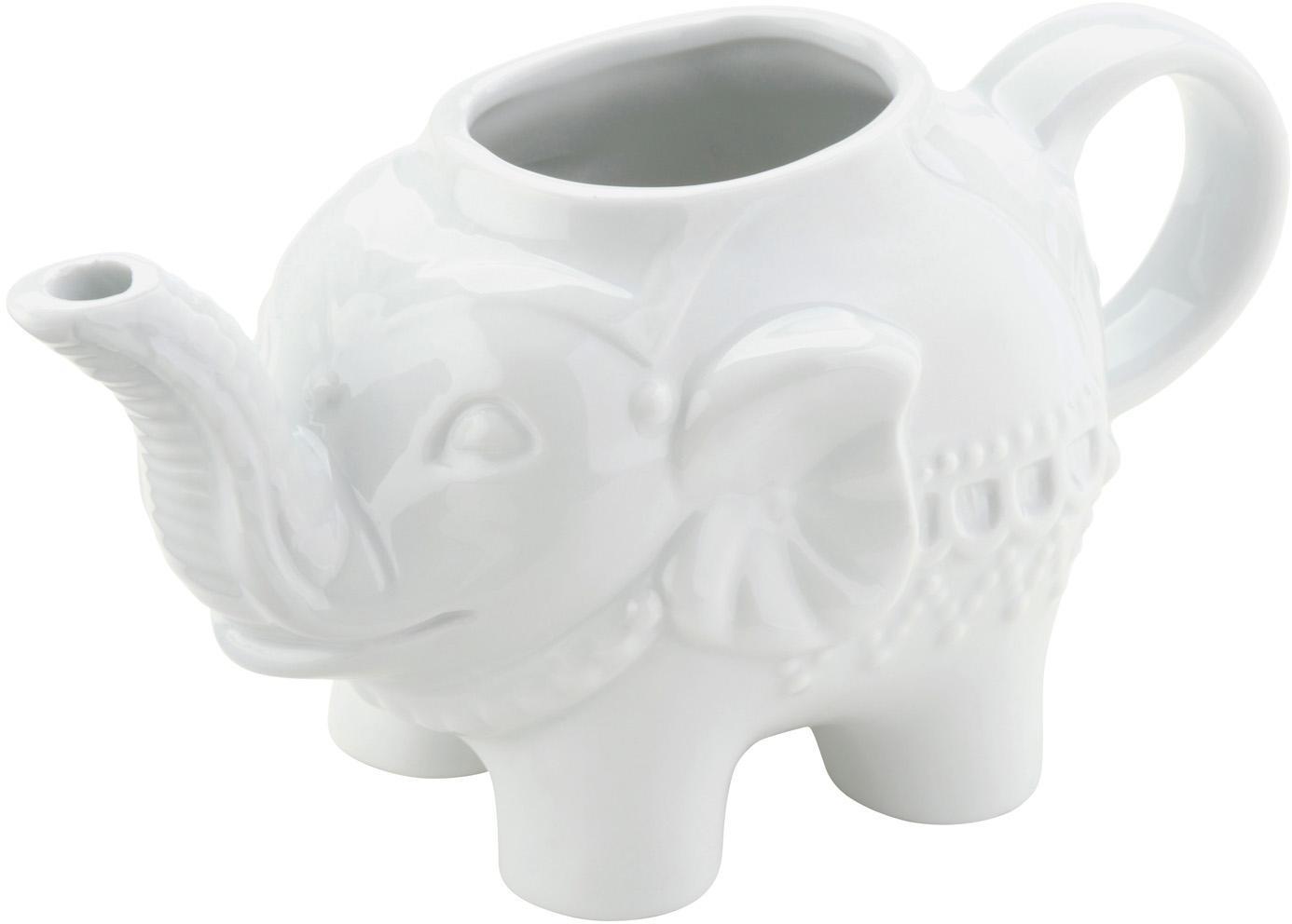 Dzbanek do mleka Elephant, Porcelana, Biały, S 15 x W 8 cm