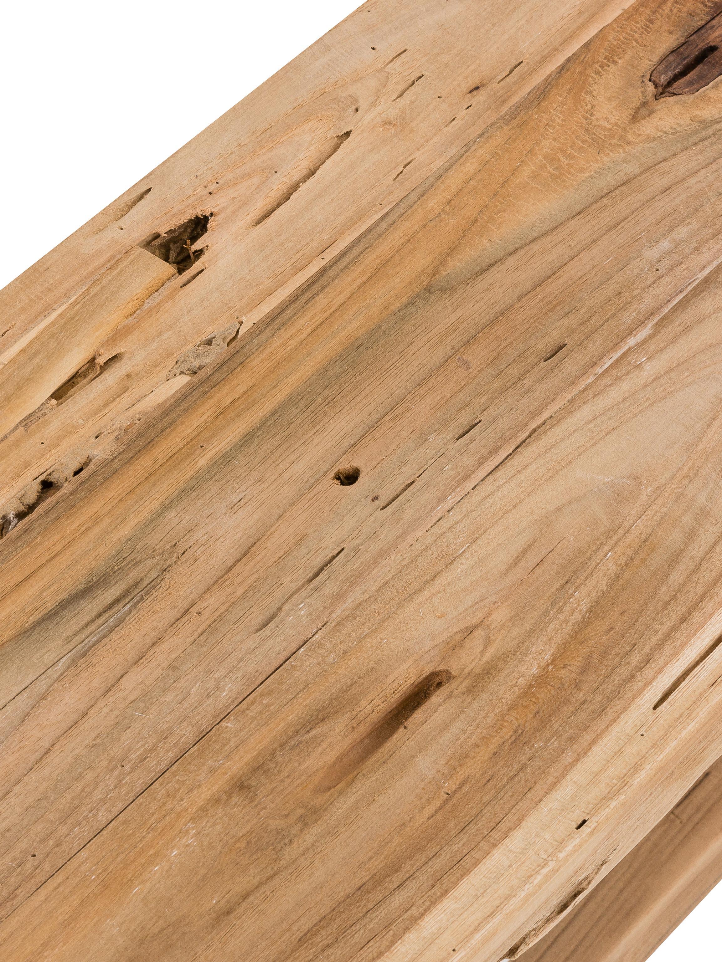 Dřevěná lavička Lawas, Teakové dřevo