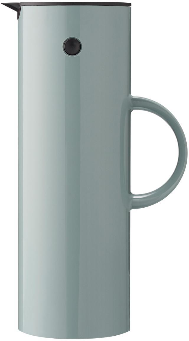 Isolierkanne EM77 in Grün glänzend, ABS-Kunststoff, im Inneren mit Glaseinsatz, Grün, 1 l