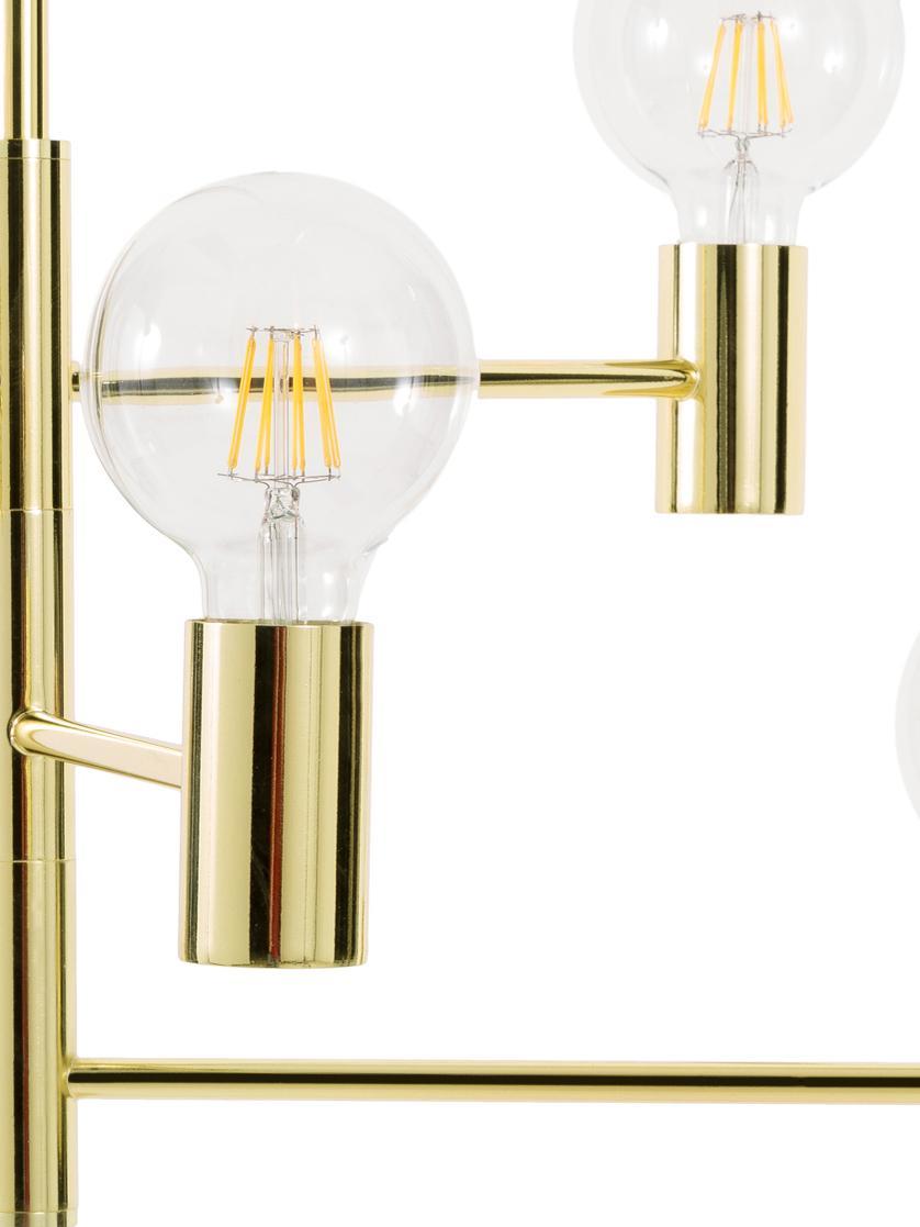Lampada a sospensione in ottone Capital, Metallo ottonato, Ottone, Ø 63 cm