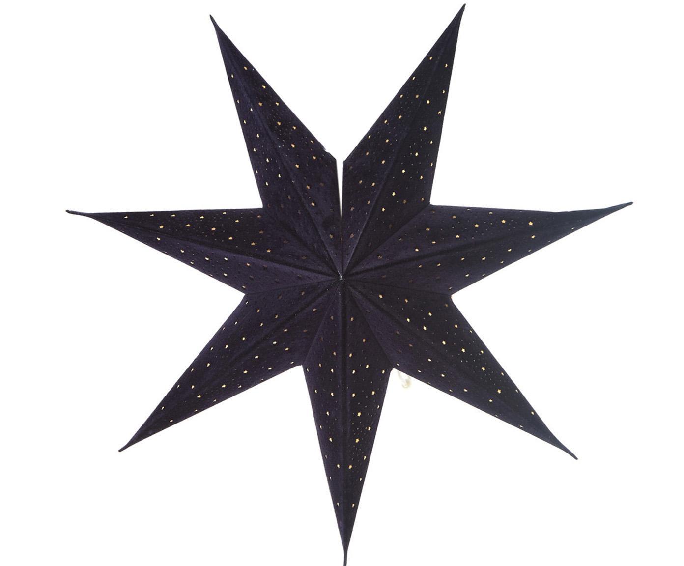 Weihnachtsstern Orby, Papier, Blau, Ø 45 cm