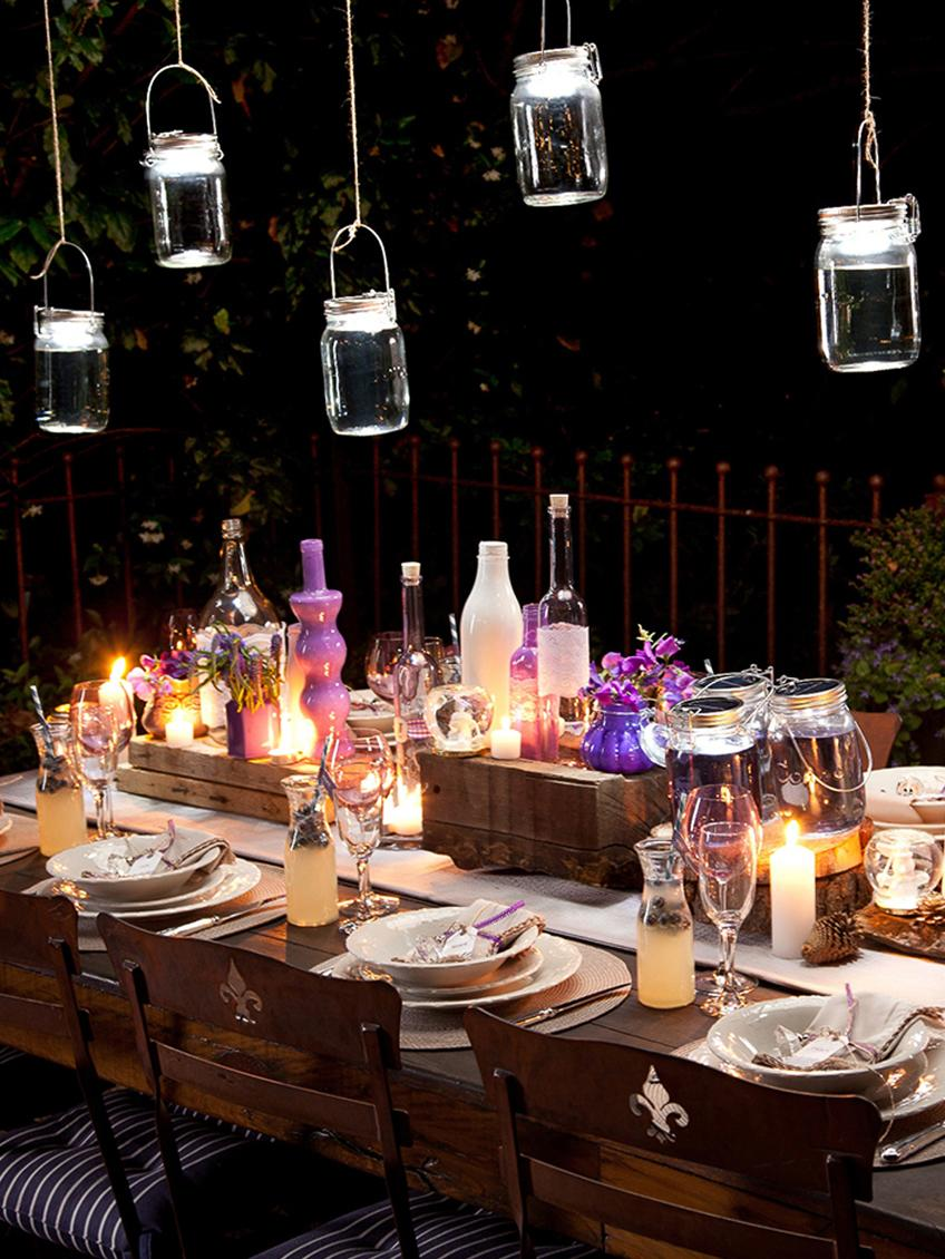 LED Solarleuchte Sonnenglas, Behälter: Recyceltes Glas, Deckel: Edelstahl, Transparent, Edelstahl, Ø 12 x H 18 cm