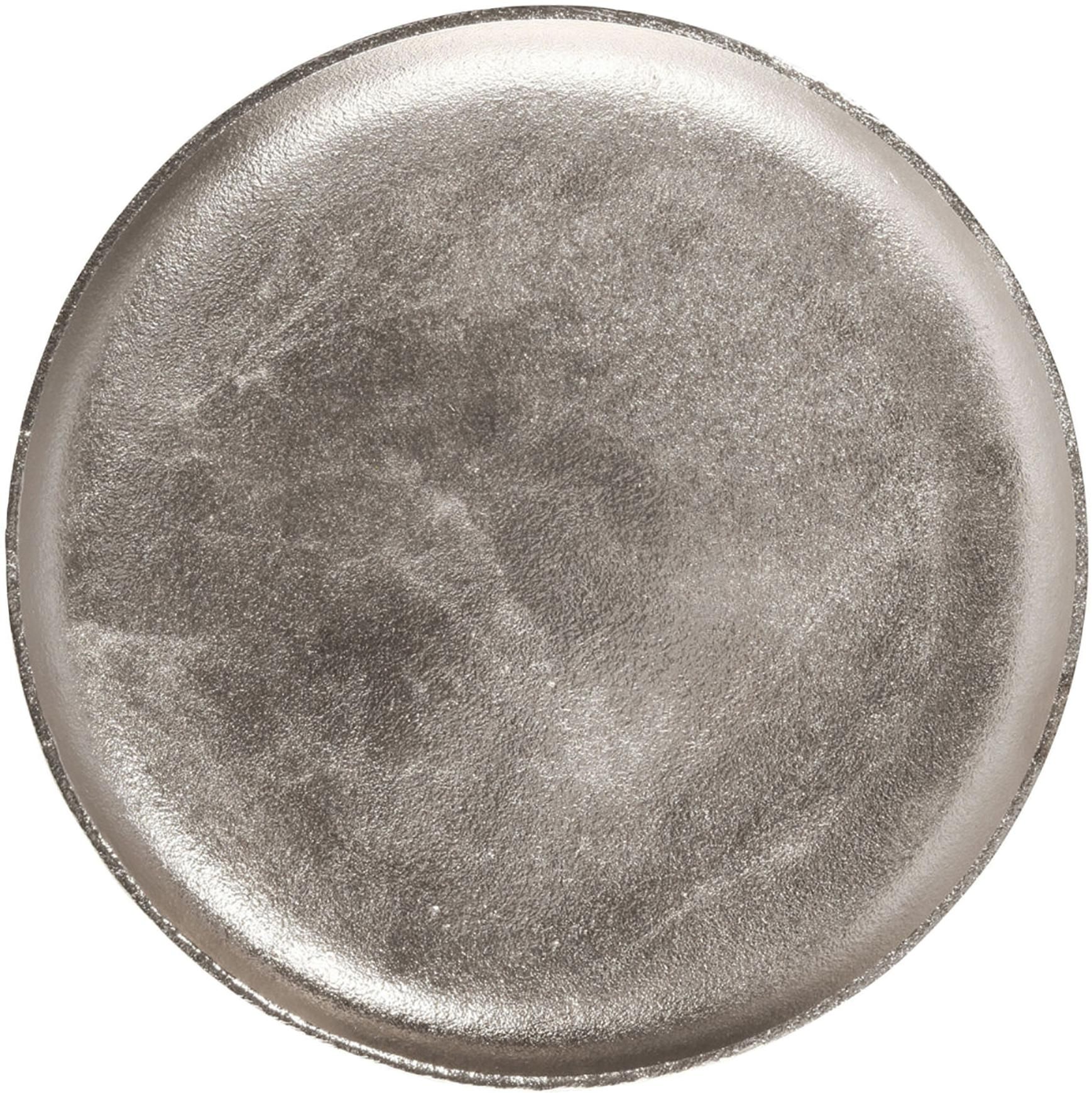 Deko-Tablett Bintel, Aluminium, Aluminium, Ø 35 cm