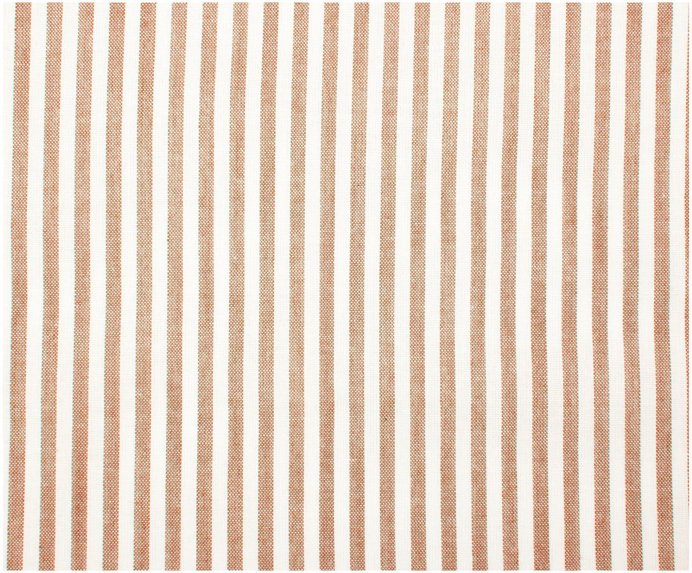 Baumwoll-Bettwäsche Ellie, fein gestreift, Webart: Renforcé Fadendichte 118 , Weiß, Rot, 240 x 220 cm + 2 Kissen 80 x 80 cm