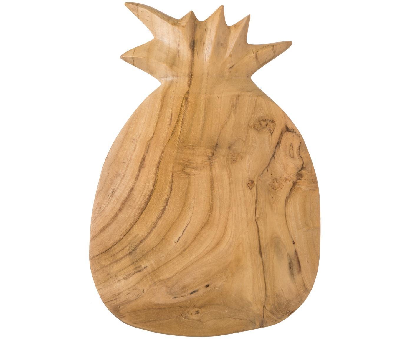Deska do krojenia Pine, Drewno tekowe, Drewno tekowe, S 23 x G 35 cm