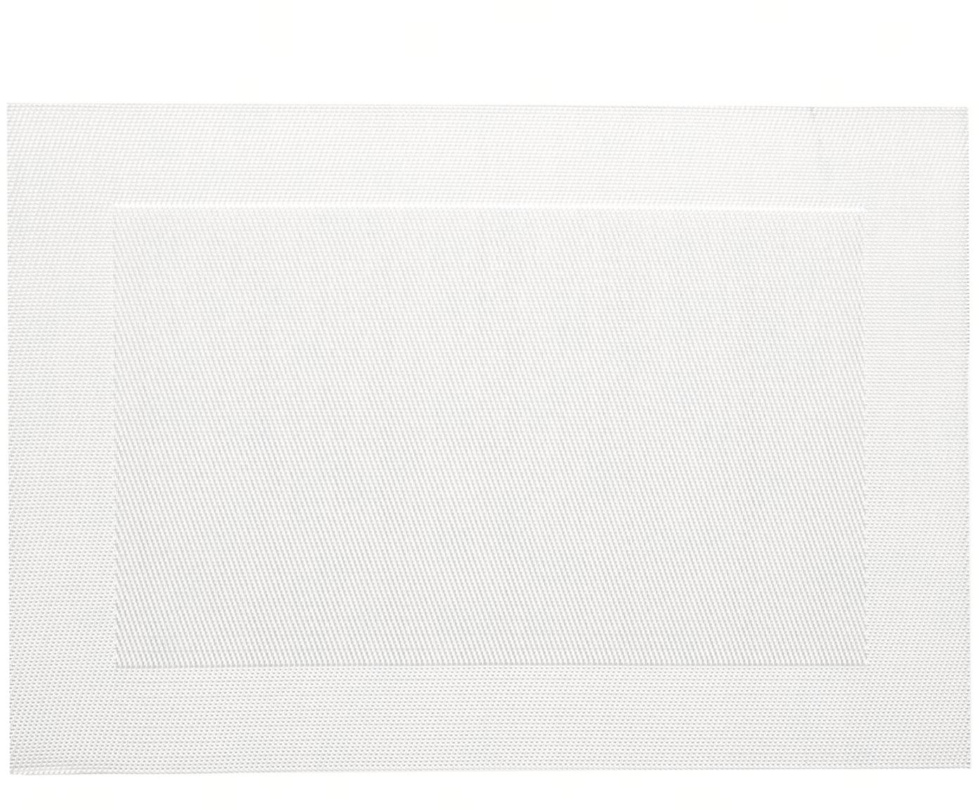 Tovaglietta americana Modern 2 pz, Materiale sintetico, Madreperla, Larg. 33 x Lung. 46 cm
