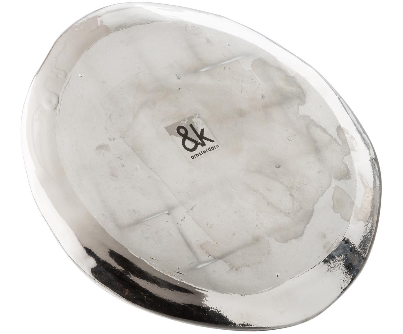 Komplet naczyń  Imperfect, 3 elem., Porcelana powlekana, Odcienie srebrnego, Różne rozmiary