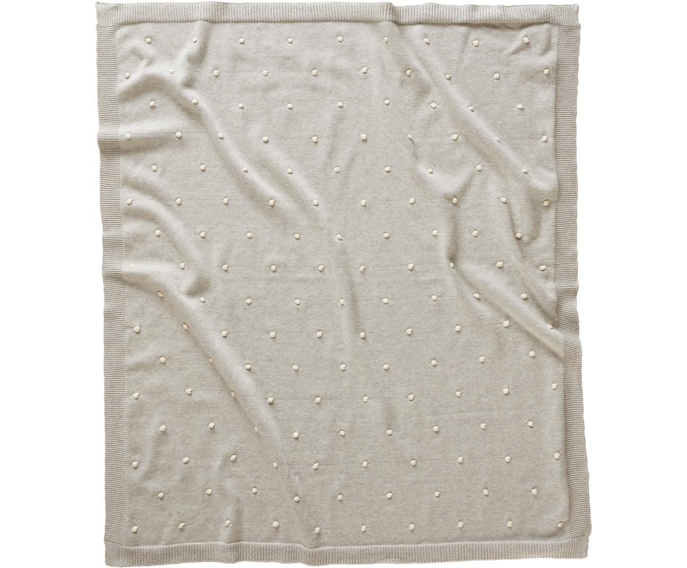 Baby-Kuscheldecke Alessia aus Bio-Baumwolle, 100% Bio-Baumwolle, Beige, 80 x 100 cm