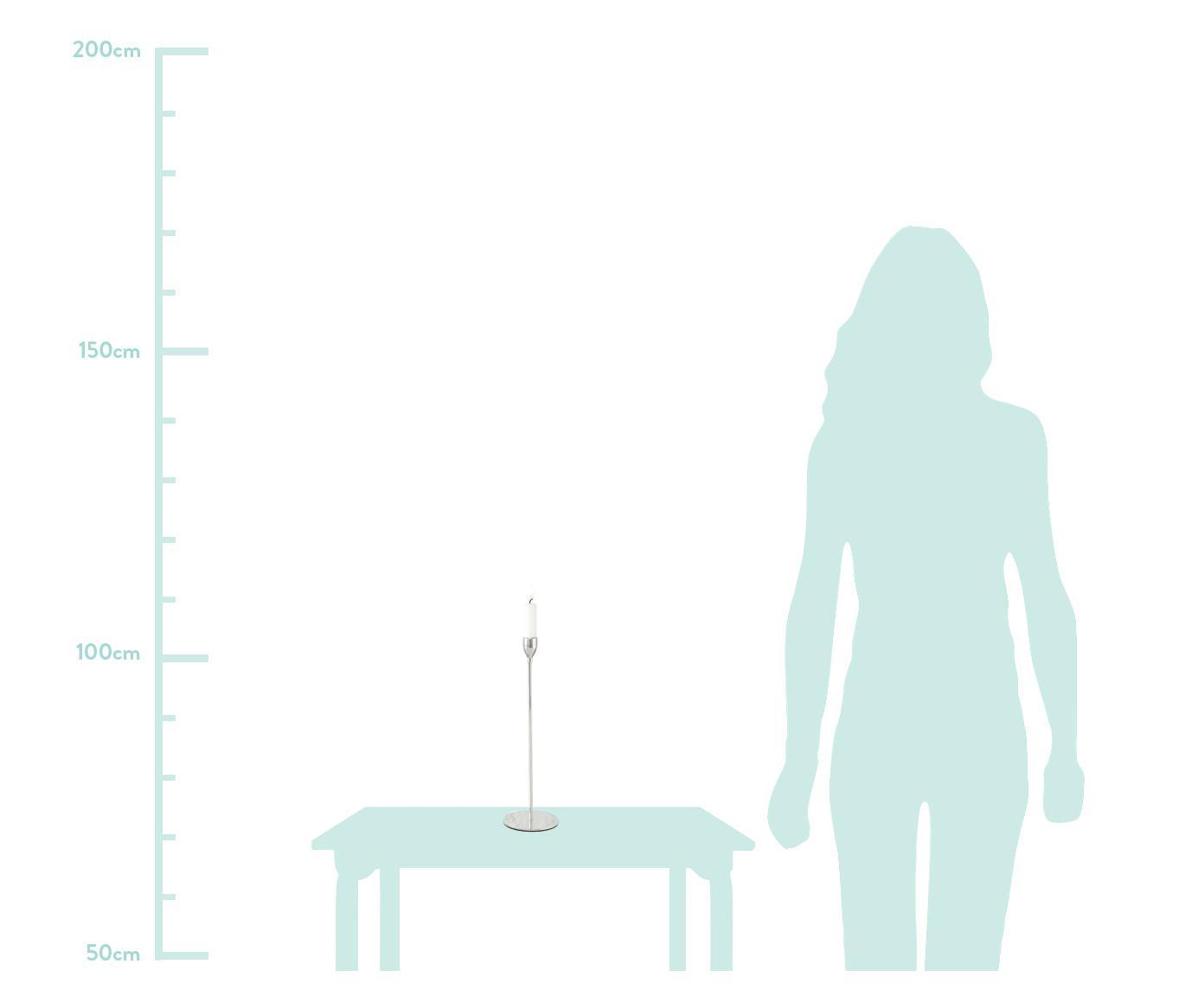 Kerzenhalter-Set Malte, 3-tlg., Metall, Metall, Sondergrößen