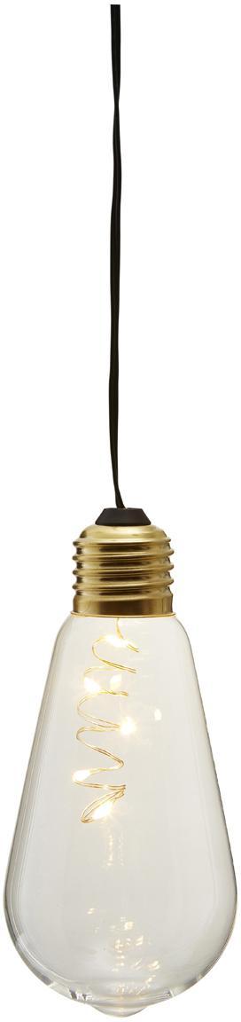 Lampadina decorativa Glow 2pz, Paralume: vetro, Trasparente, Ø 6 x Alt. 13 cm