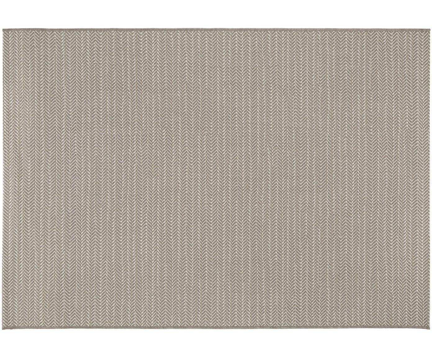 Dywan wewnętrzny/zewnętrzny Metro Needle, Polipropylen, Beżowy, S 80 x D 150 cm (Rozmiar XS)
