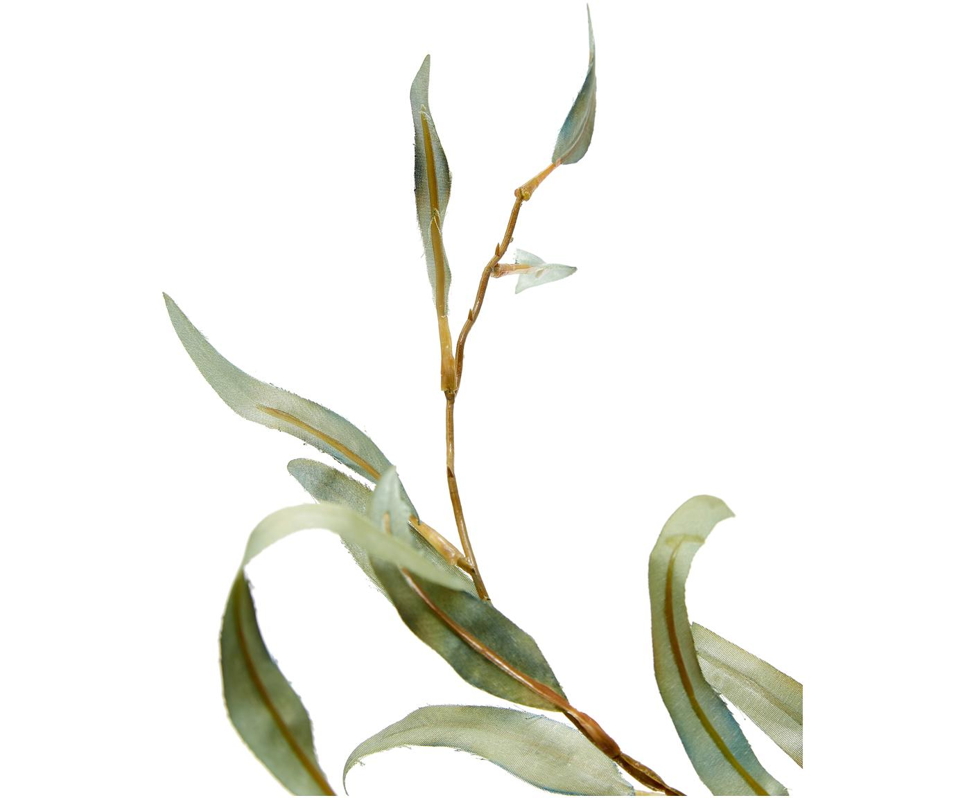 Flor artificial eucalipto Pati, Plástico, Verde, L 96 cm