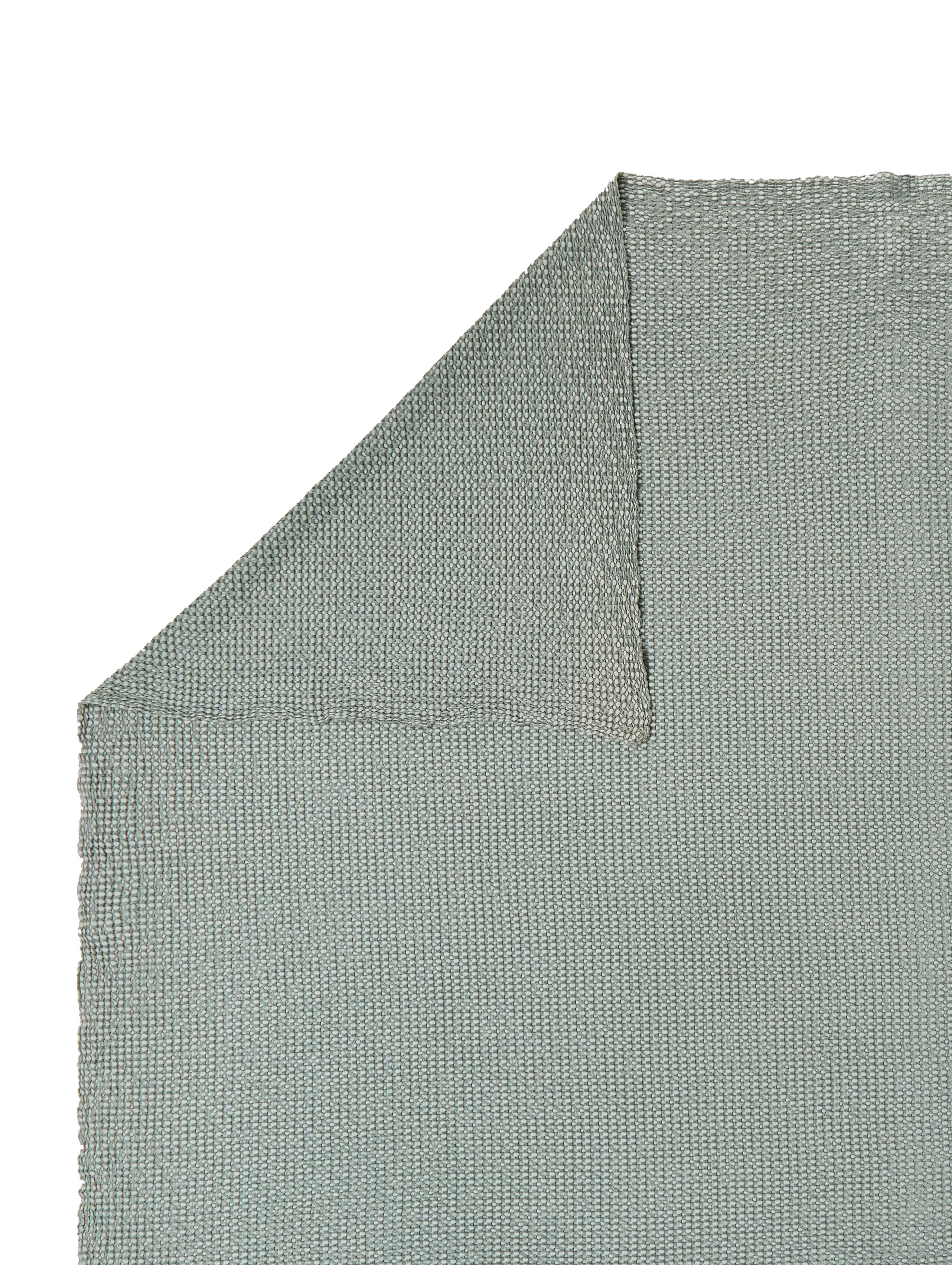 Tagesdecke Vigo mit strukturierter Oberfläche, 100% Baumwolle, Flaschengrün, 220 x 240 cm