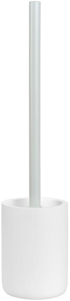 Toilettenbürste Archway, Behälter: Polyresin, Griff: Metall, Weiß, Ø 10 cm