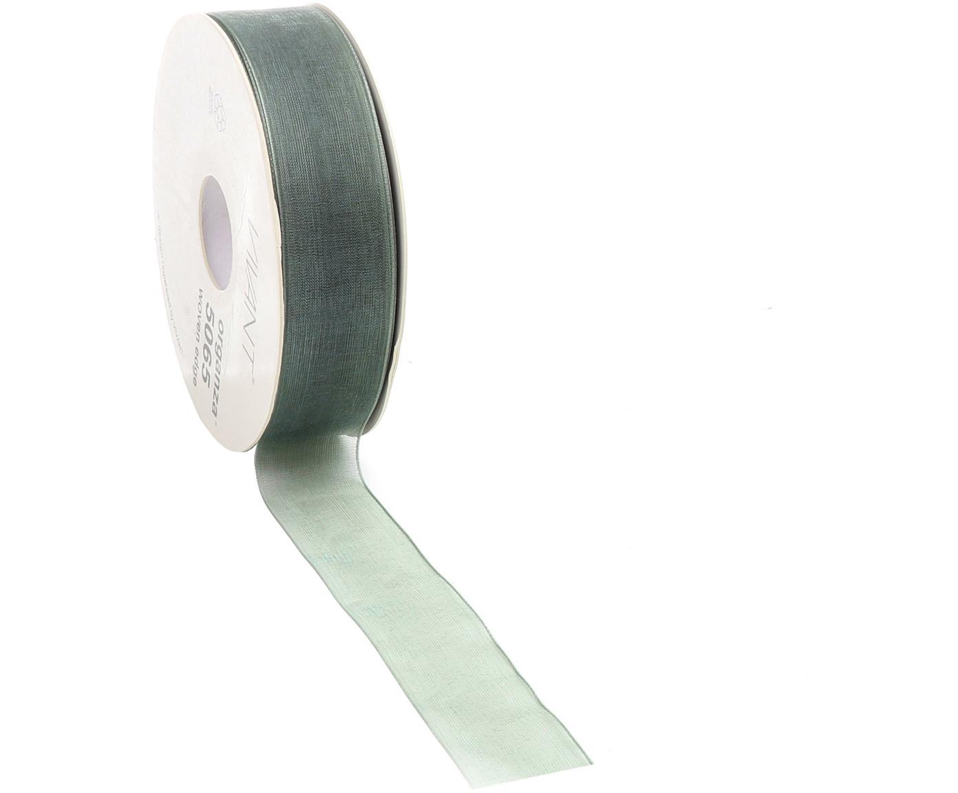 Geschenkband Origo, Polyester, Salbeigrün, 3 x 5000 cm