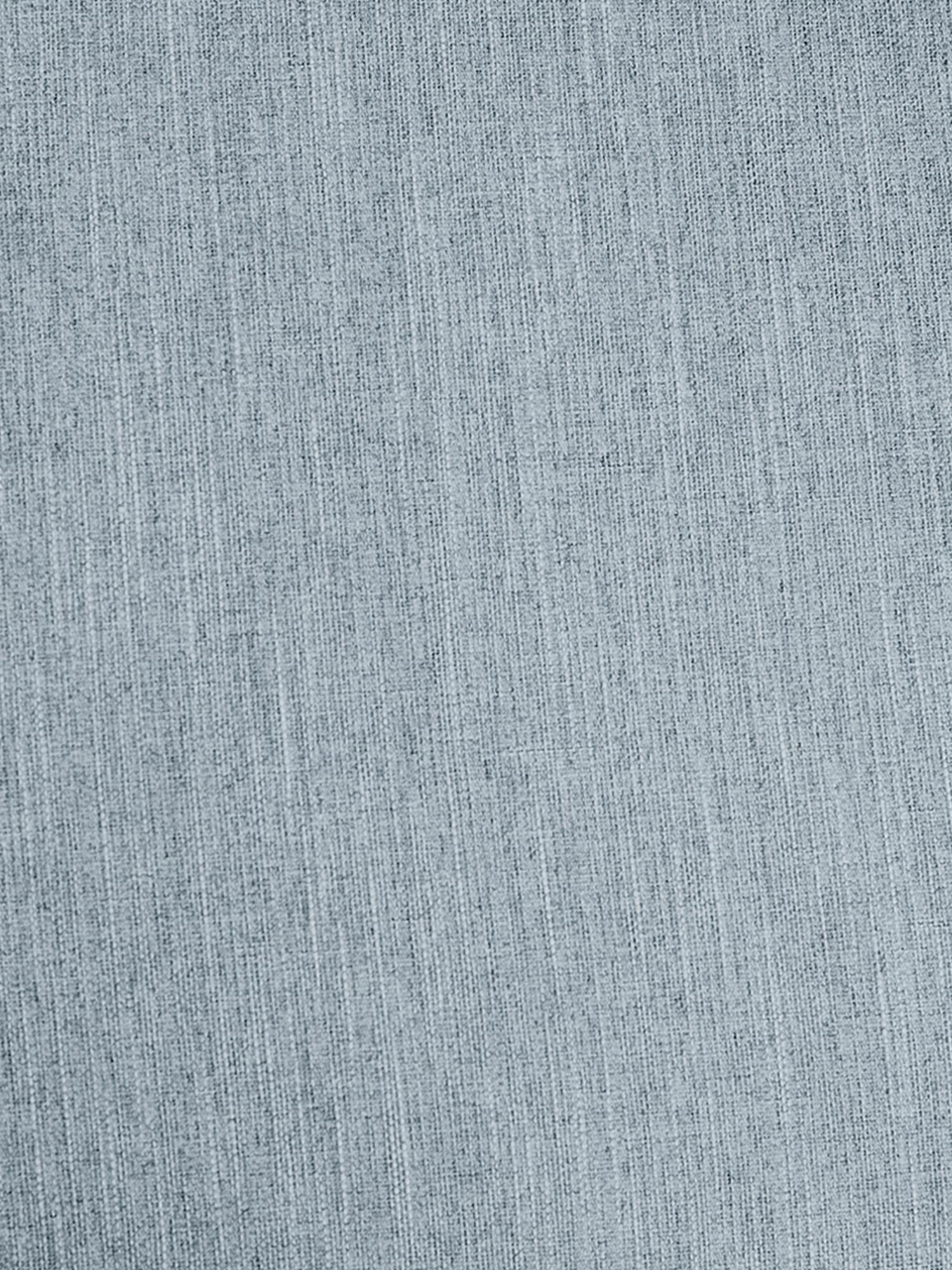 Divano angolare 3 posti in tessuto blu grigio Melva, Rivestimento: poliestere 35.000 cicli d, Struttura: legno di pino massiccio, , Piedini: legno di pino, Tessuto blu grigio, Larg. 240 x Prof. 144 cm