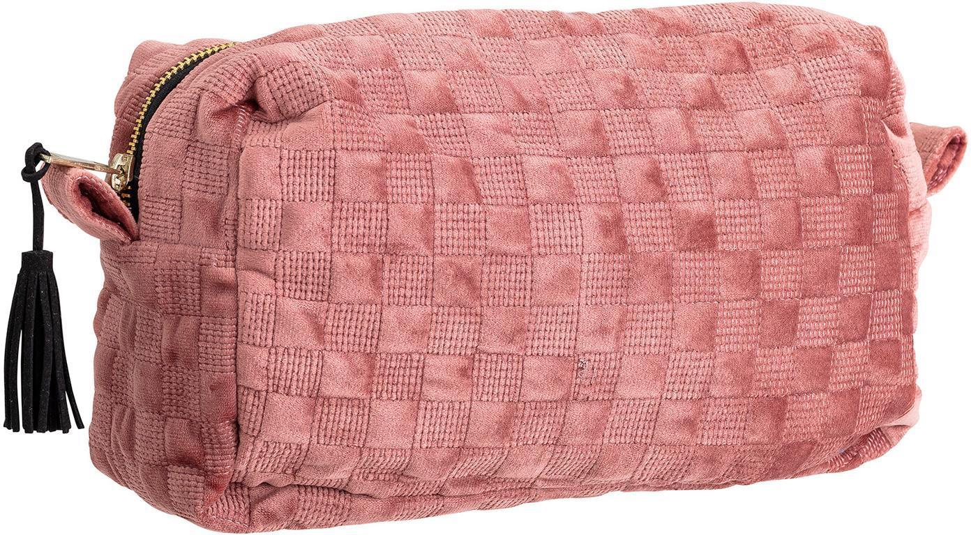 Kosmetiktasche Redo, Polyester, Rosa, 25 x 15 cm