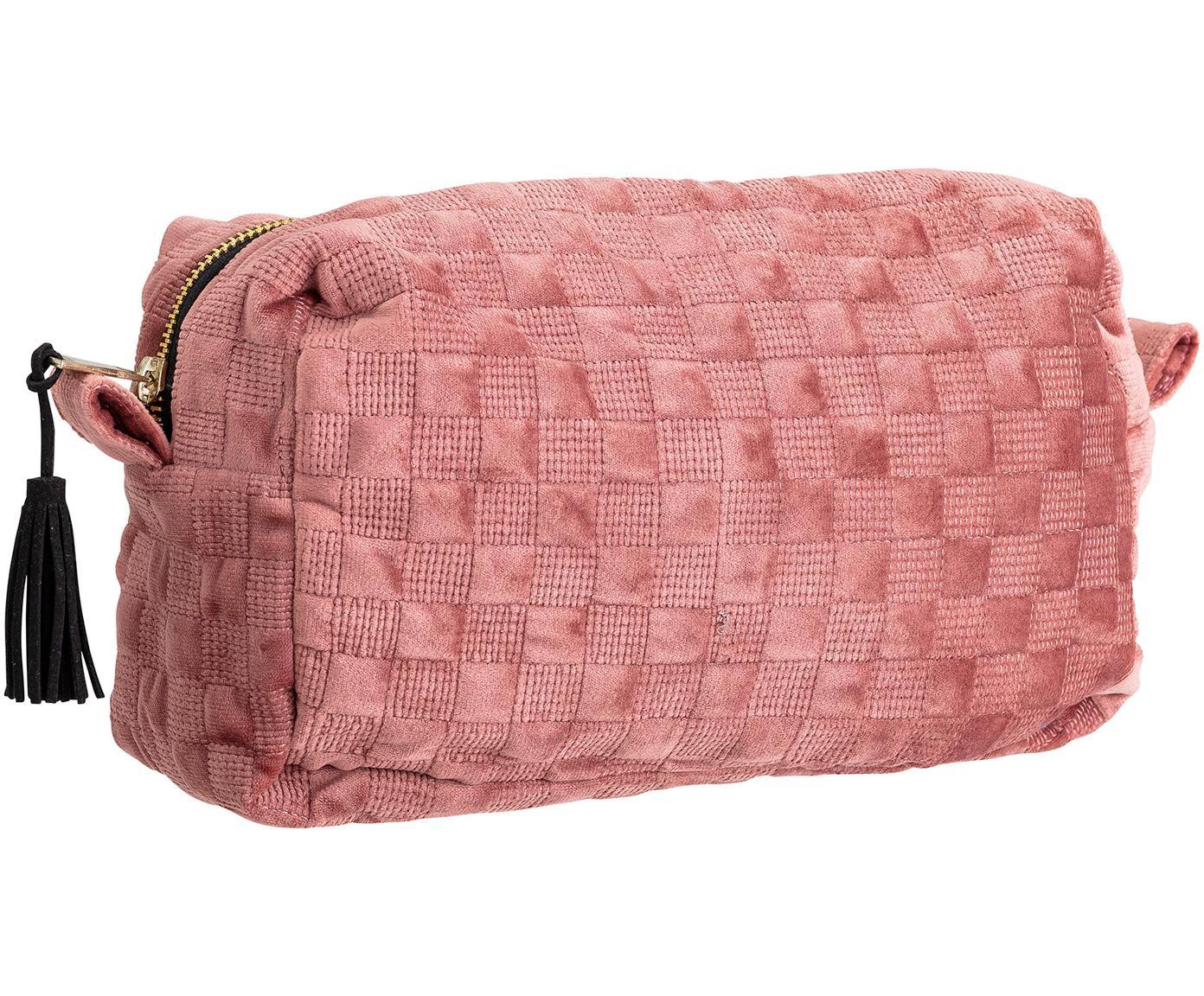 Make-up tas Redo, Polyester, Roze, 25 x 15 cm