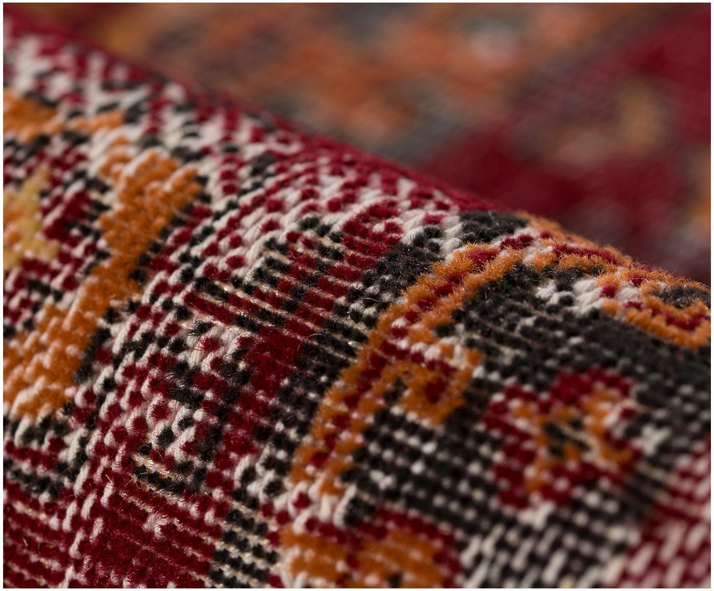 Dywan wewnętrzny/zewnętrzny Tilas Izmir, Ciemny czerwony, musztardowy, khaki, S 200 x D 290 cm (Rozmiar L)