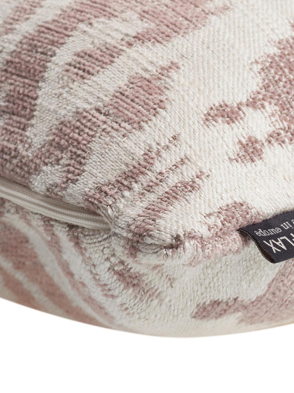 Kissenhülle Vanja in Beige/Creme, 52% Polyester, 32% Viskose, 16% Leinen, Beige, Creme, 45 x 45 cm