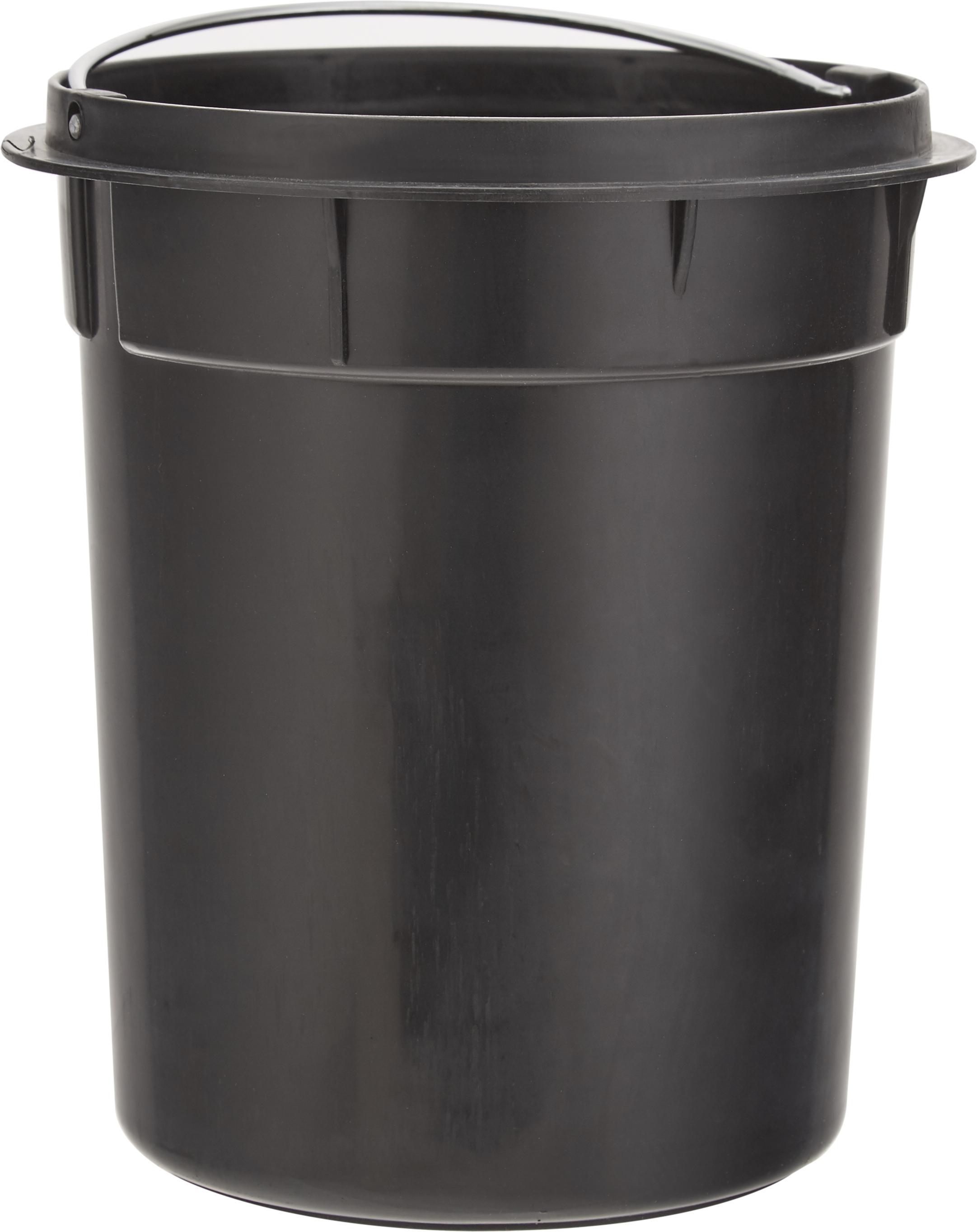 Abfalleimer Ella mit Pedal-Funktion, Cremefarben, Ø 17 x H 26 cm