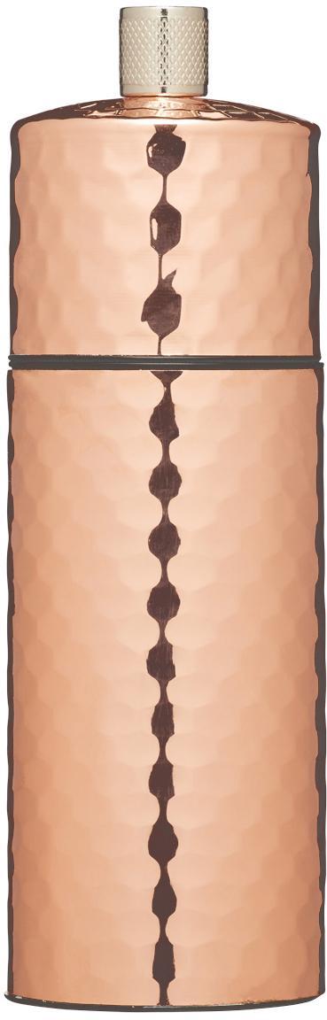 Pfeffermühle Luna in Kupfer, Gehäuse: Kupfer, Mahlwerk: Keramik, Kupfer, Ø 5 x H 15 cm