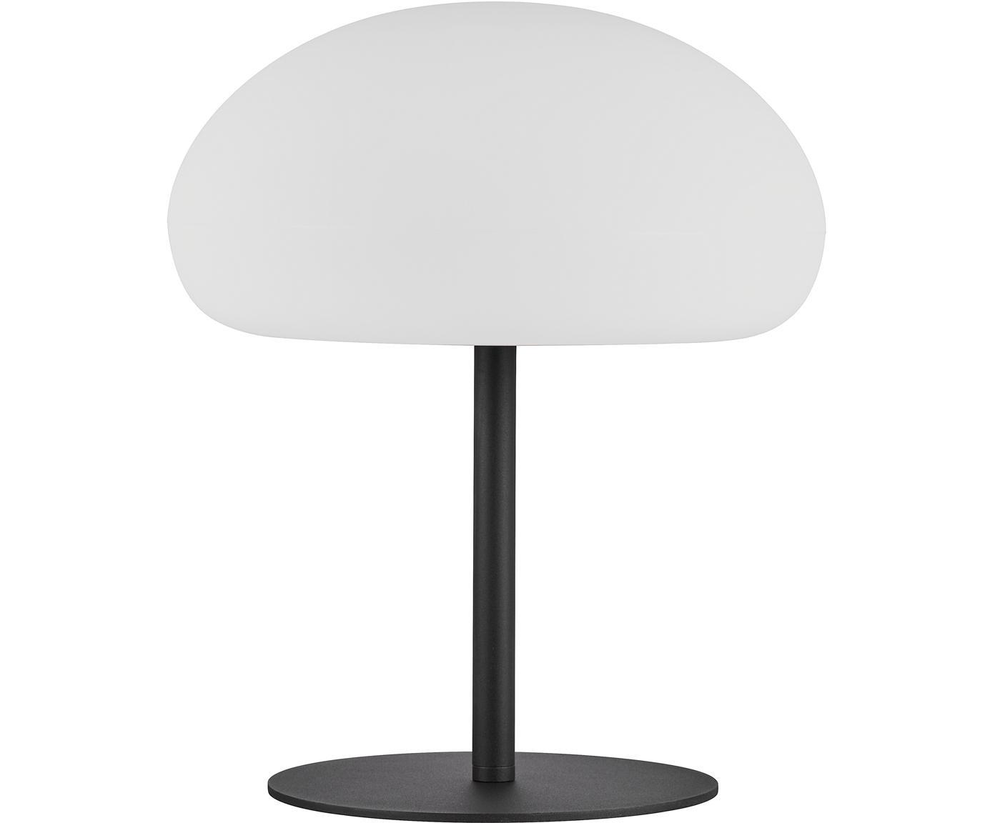 Dimmbare LED Aussentischleuchte Sponge, Lampenschirm: Kunststoff (PVC), Weiss, Schwarz, Ø 34 x H 41 cm