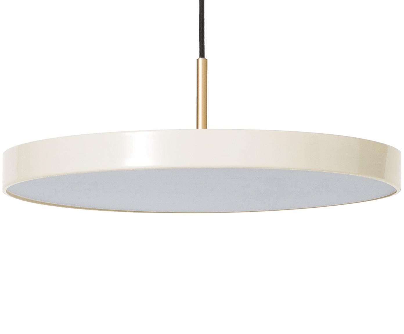 Lampa wisząca LED  Asteria, Kremowobiały, Ø 43 x W 15 cm