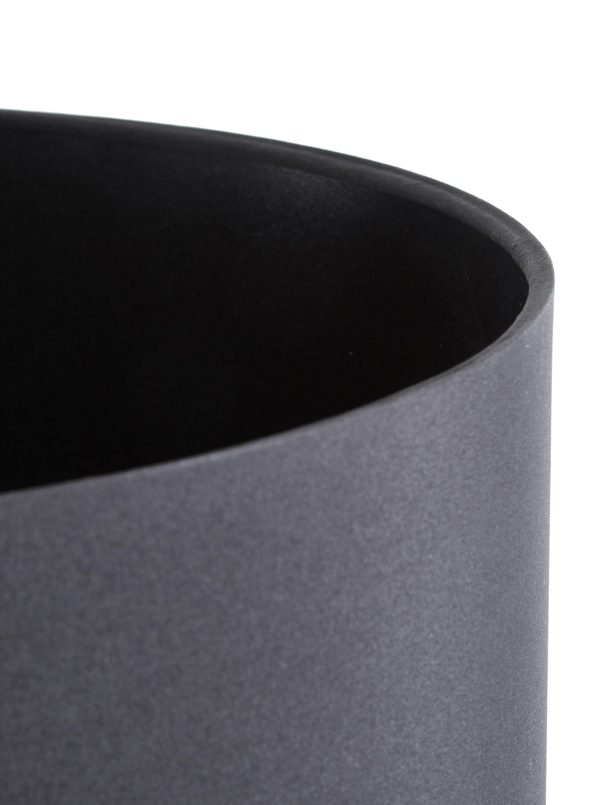 Stehlampe Harry, Lampenschirm: Textil, Lampenfuß: Metall, pulverbeschichtet, Schwarz, ∅ 28 x H 158 cm