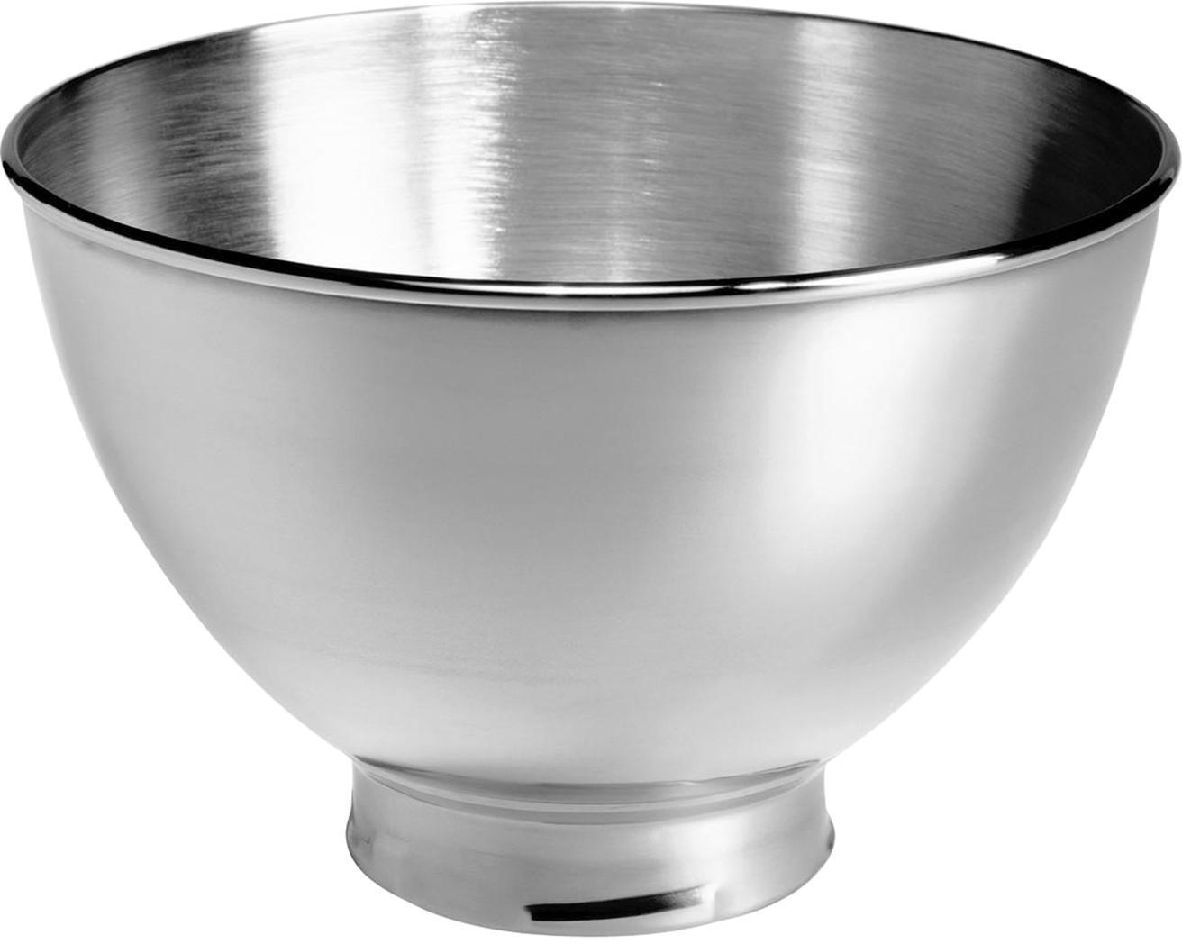 Ciotola in acciaio Inox per planetaria Artisan, Acciaio inossidabile, Acciaio inossidabile, 3 litri